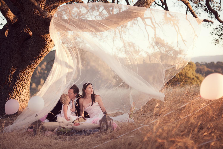 Fairytale Family Portrait // Ashley Petersen Photo