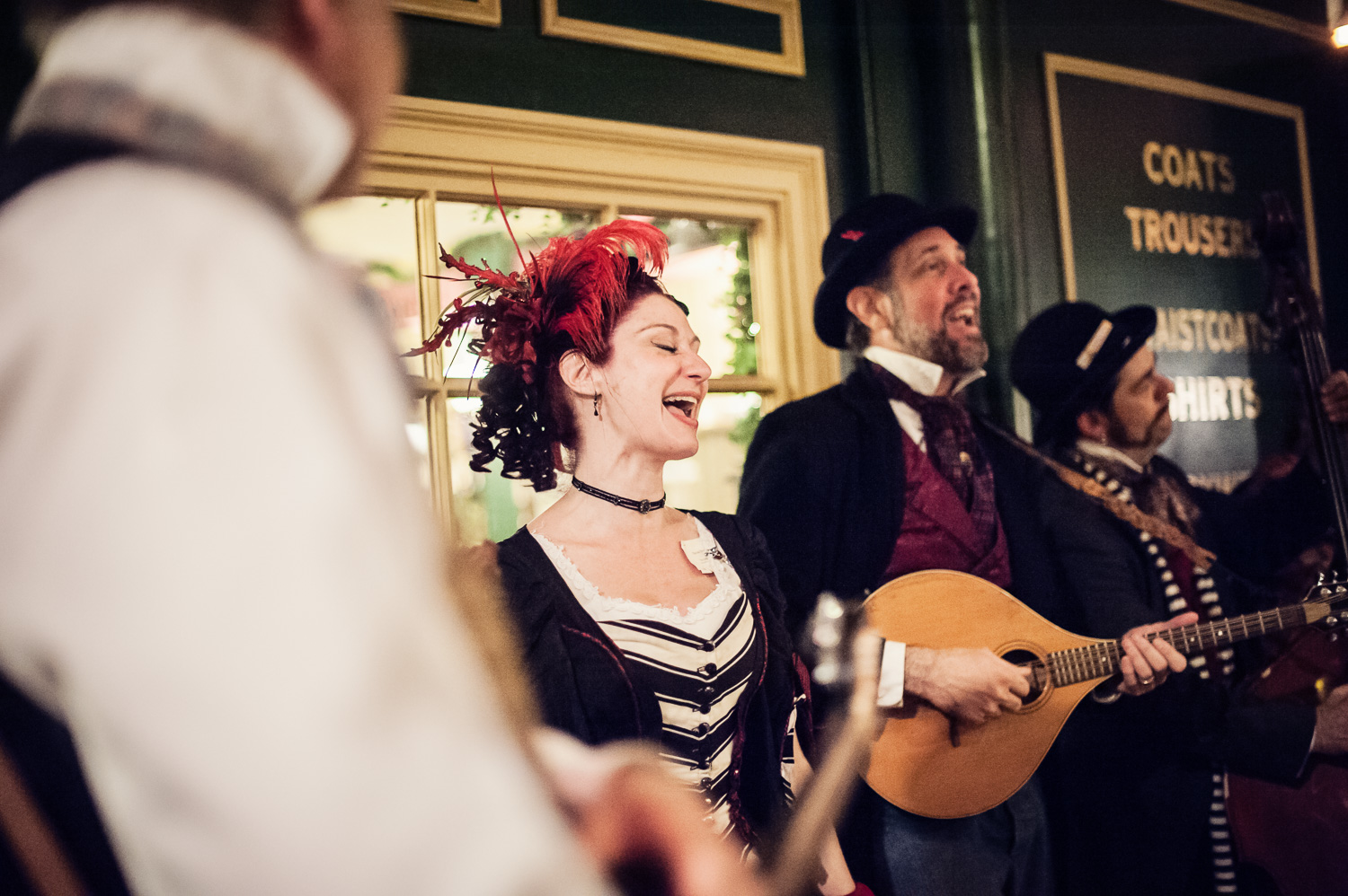 Musicians at The Great Christmas Dickens Fair // Ashley Petersen Photo