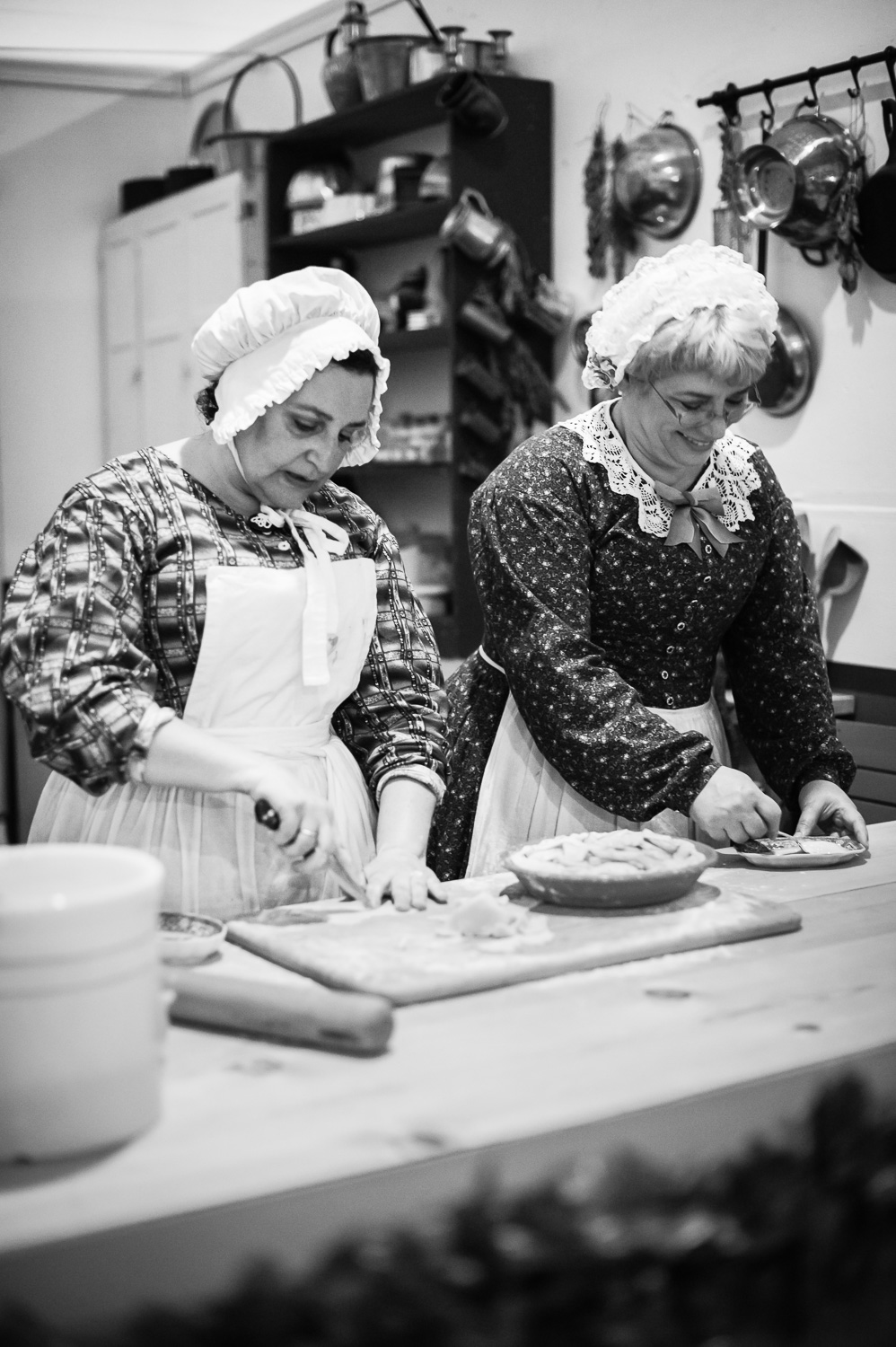 Making Pies // The Great Christmas Dickens Fair // Ashley Petersen Photo