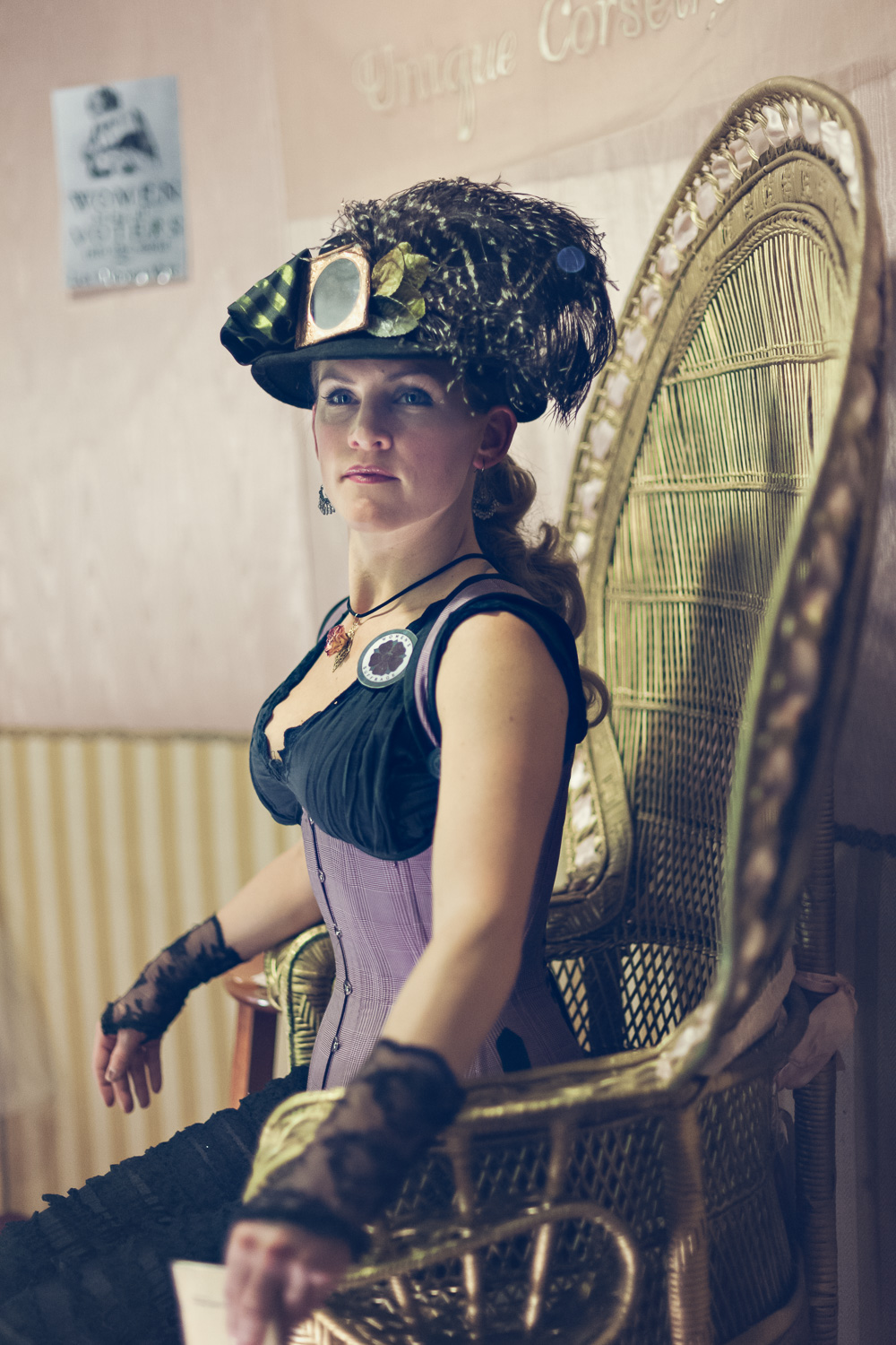 Corsets // The Great Christmas Dickens Fair // Ashley Petersen Photo