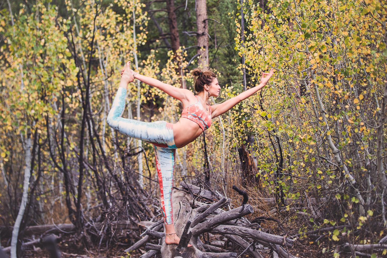 Yogi Ashley Dien // Dancer's Pose (Natarajasana)// Ashley Petersen Photo