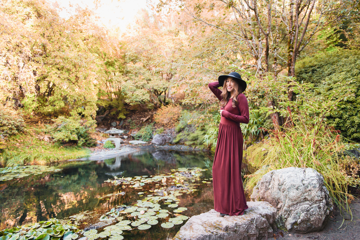 Shabby Apple Maxi Dress // Ashley Petersen Photo