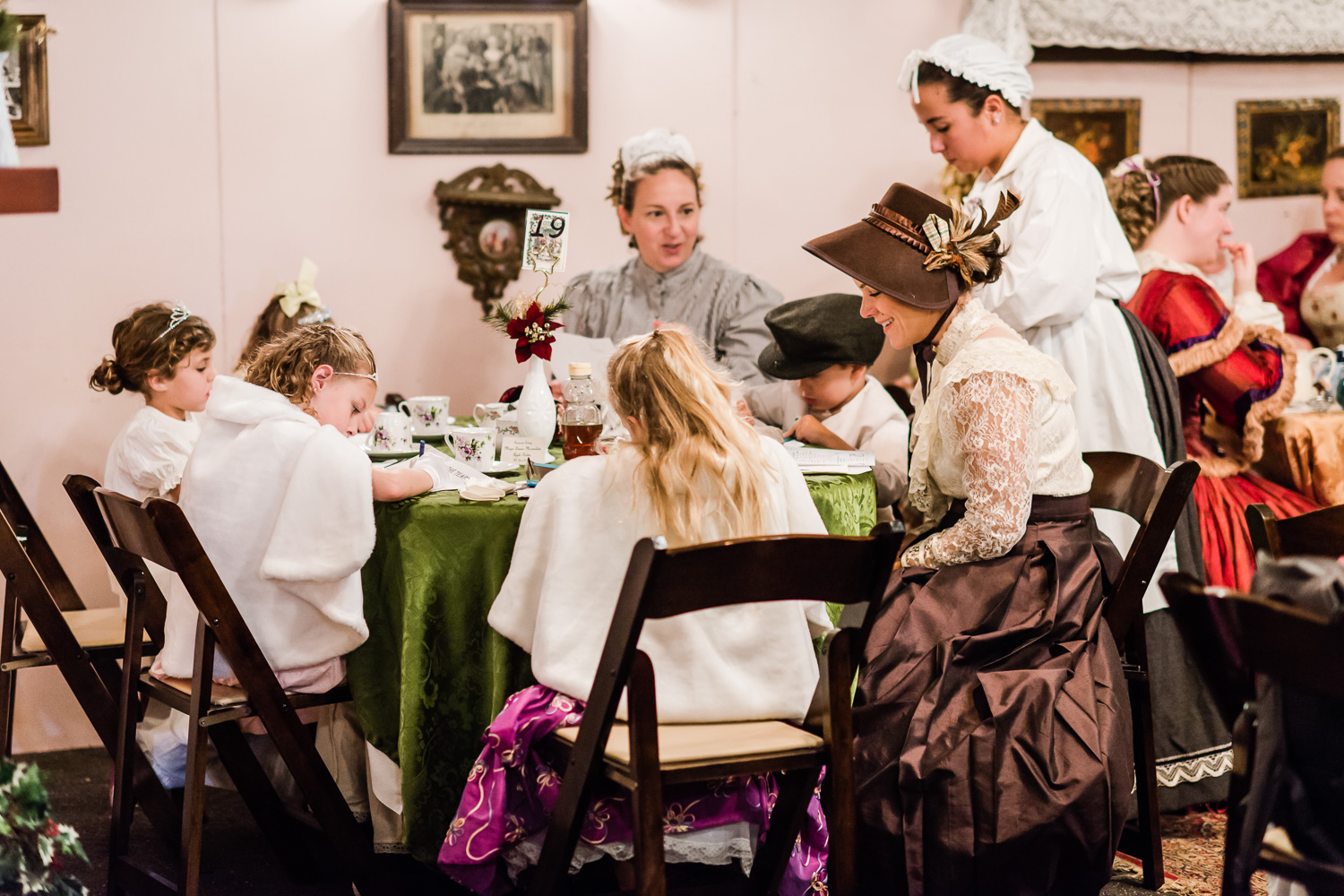 Tea at DIckens Fair // Ashley Petersen Photo