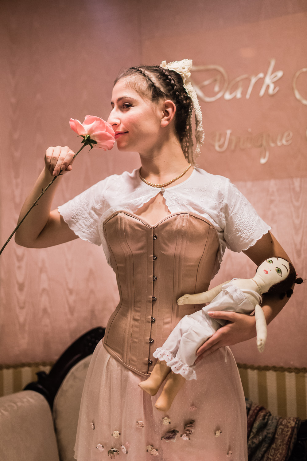 Corsets at Dickens Fair // Ashley Petersen Photo