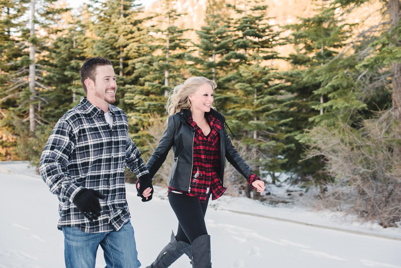 Lake Tahoe Engagement // Ashley Petersen Photo