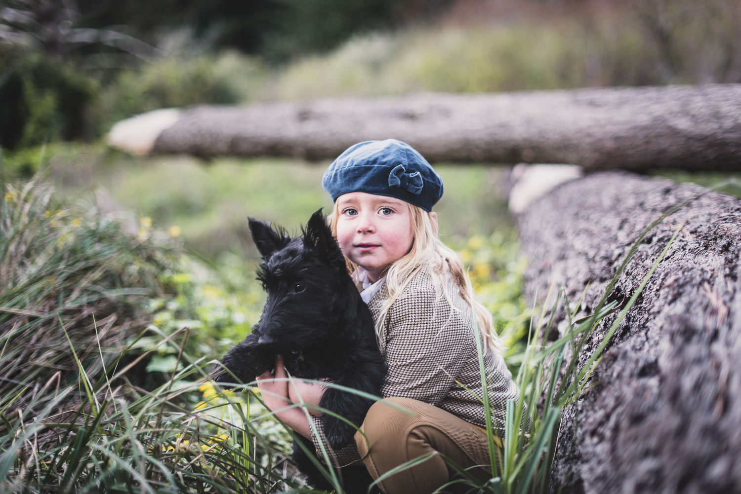 Kids Portrait with Scottie // Ashley Petersen Photo