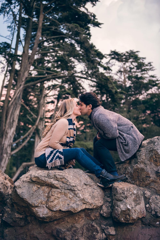 Golden Gate Park // San Francisco Engagement // Ashley Petersen Photography