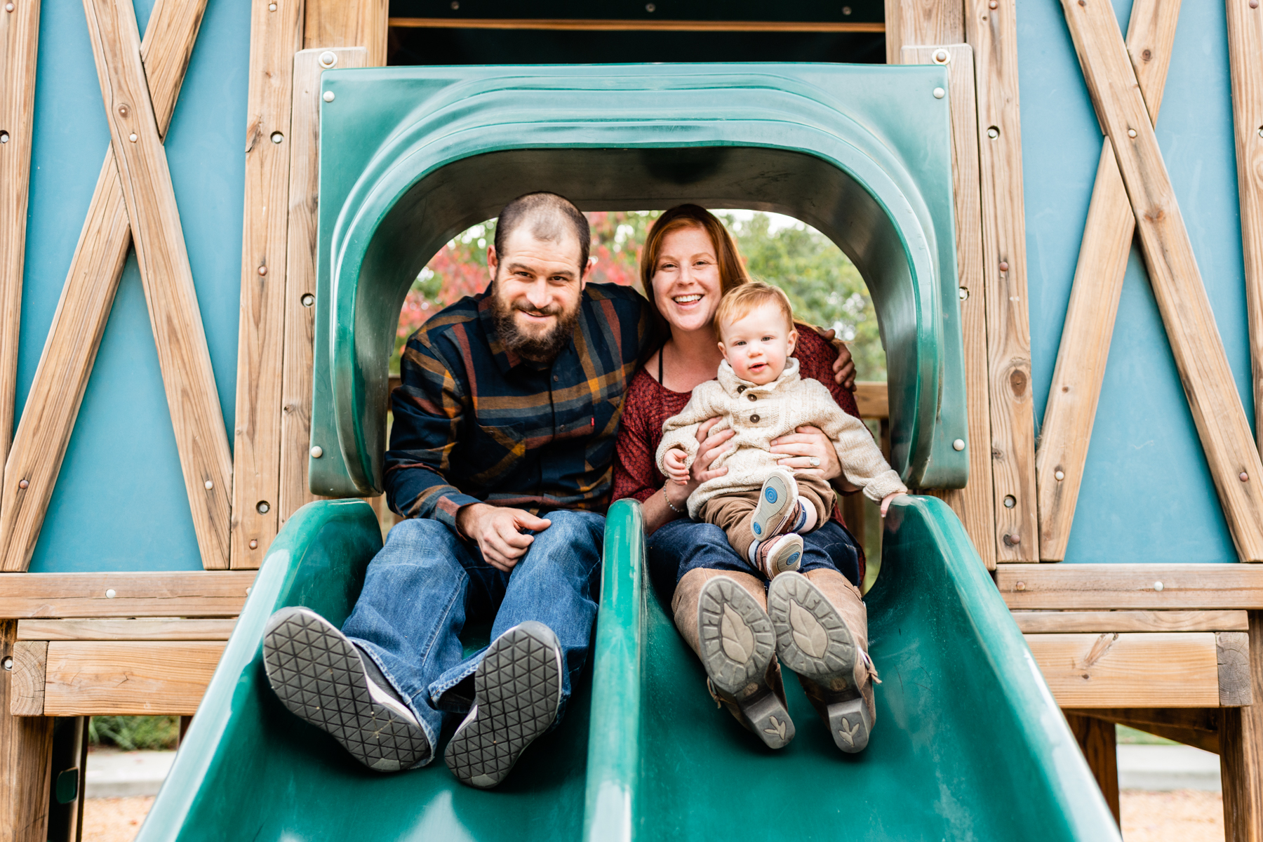 Family lifestyle session at the playground in Danville, CA.