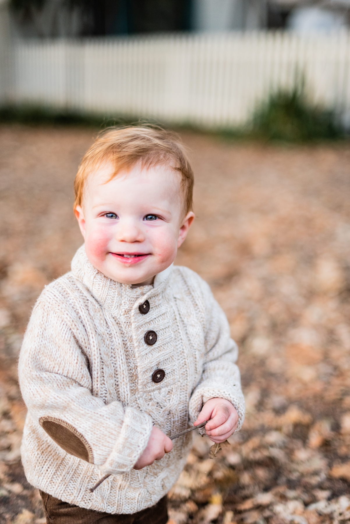 Toddler portrait session at Hap Magee Park.