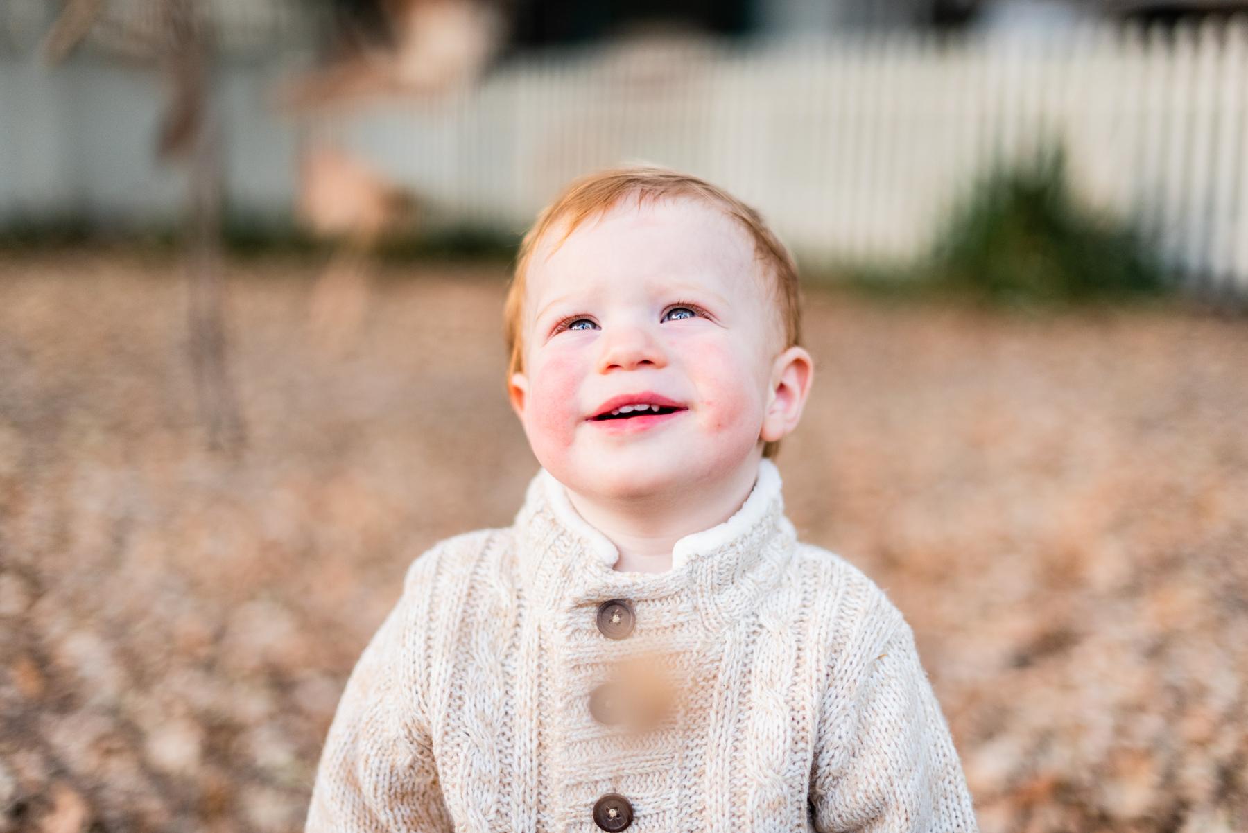 Toddler Portrait at Hap Magee Park