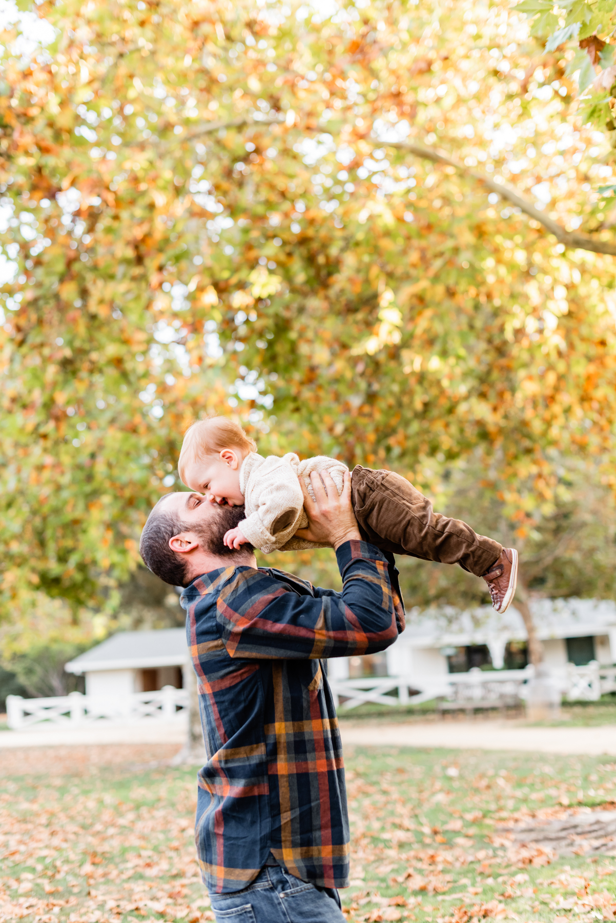 Father and son lifestyle session at Hap Magee Park in Danville, CA.