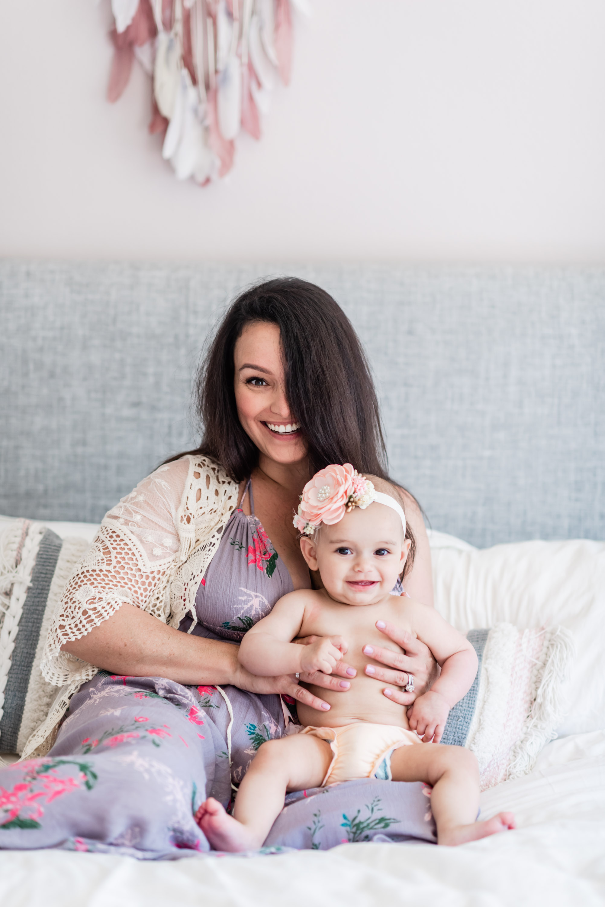 Mama and Baby // Ashley Petersen Photography