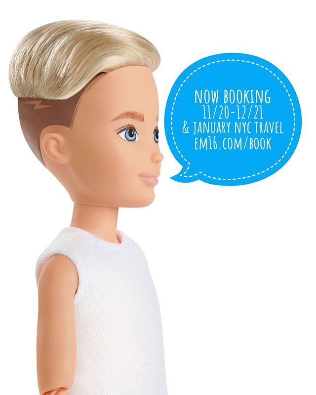 My doll-twin wants me to tell you that I'm now taking new requests for Nov/Dec/Jan (mostly January travel but I'm willing to fill January if other spots fill up). Use the form at em16.com/book to put yours in! I'd like to do some large botanic pieces that are single subject, textile-inspired patterns, and to finish some projects. I will be taking some time off after January (TBD) and have very limited time available until then. Now is the time to get your project finished! * please allow up to two weeks for a response ** thanks for your patience!