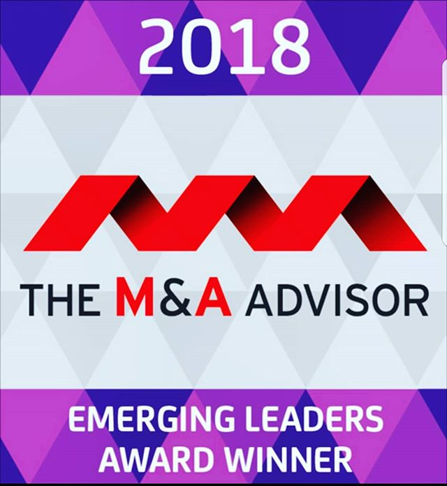 Happy to have been picked as a winner for the 9th Annual Emerging Leaders Awards by the M&A Advisor.  The awards recognize those under 40 with significant achievements/contributions in M&A, Financing, or Turnaround Management.  Proud to be listed alongside other top professionals in the industry such as Managing Director at BlackRock and Partners at Apollo.  Also thanks @andrew_pono and @elenka_nosova former winners, lets continue doing great things with Enter Capital.
