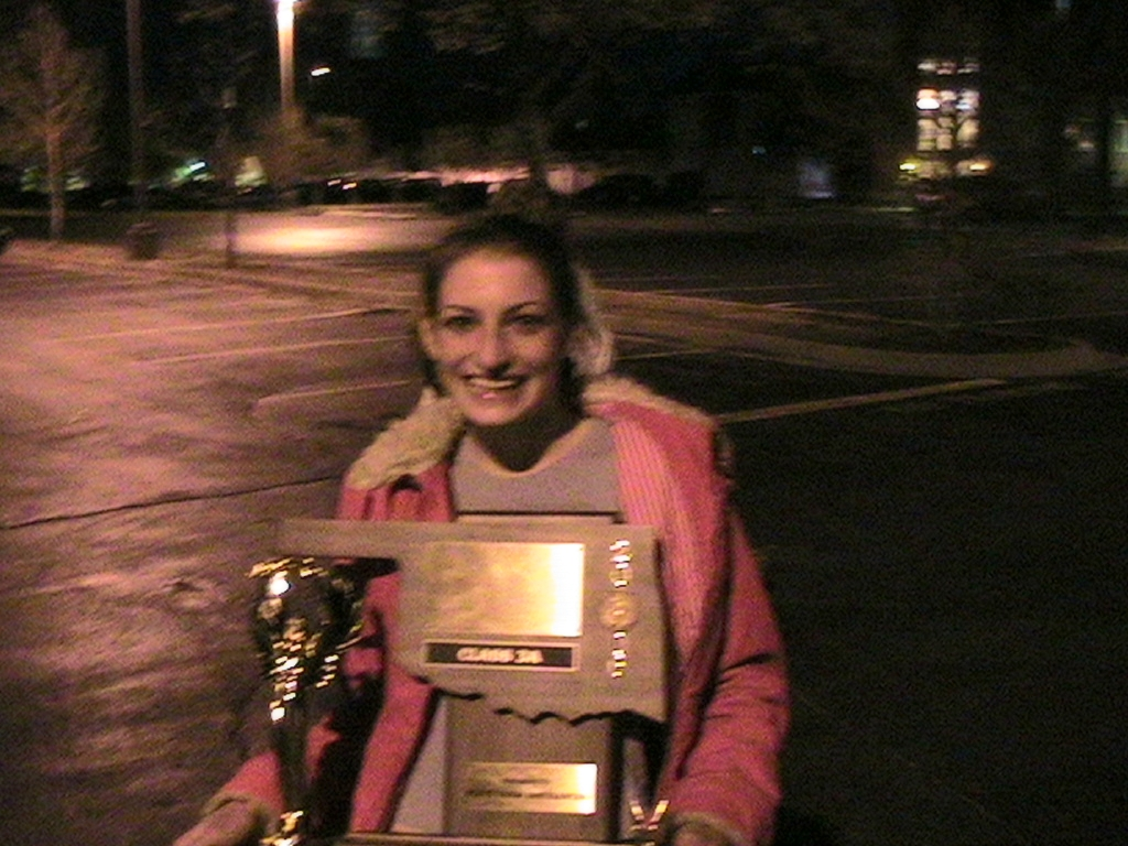 Speech and Debate Championship Trophy