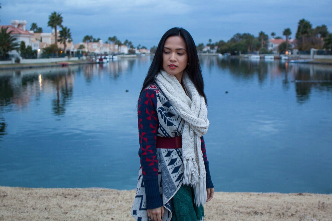 Scarf // Abercrombie & Fitch