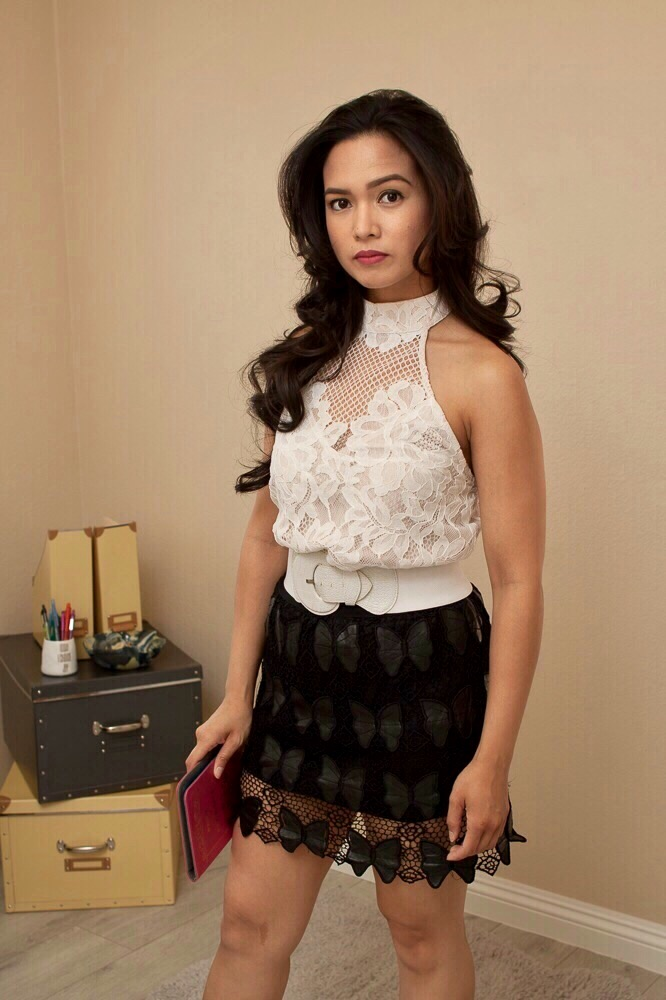 Above all Lace Halter Top from Tobi - $58.00