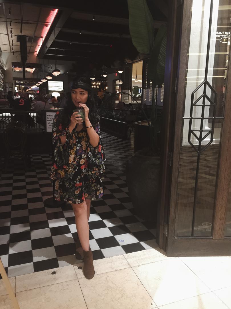 My OOTD //  Dress: Show Me Your MuMu  ;  Head Wrap: Zara