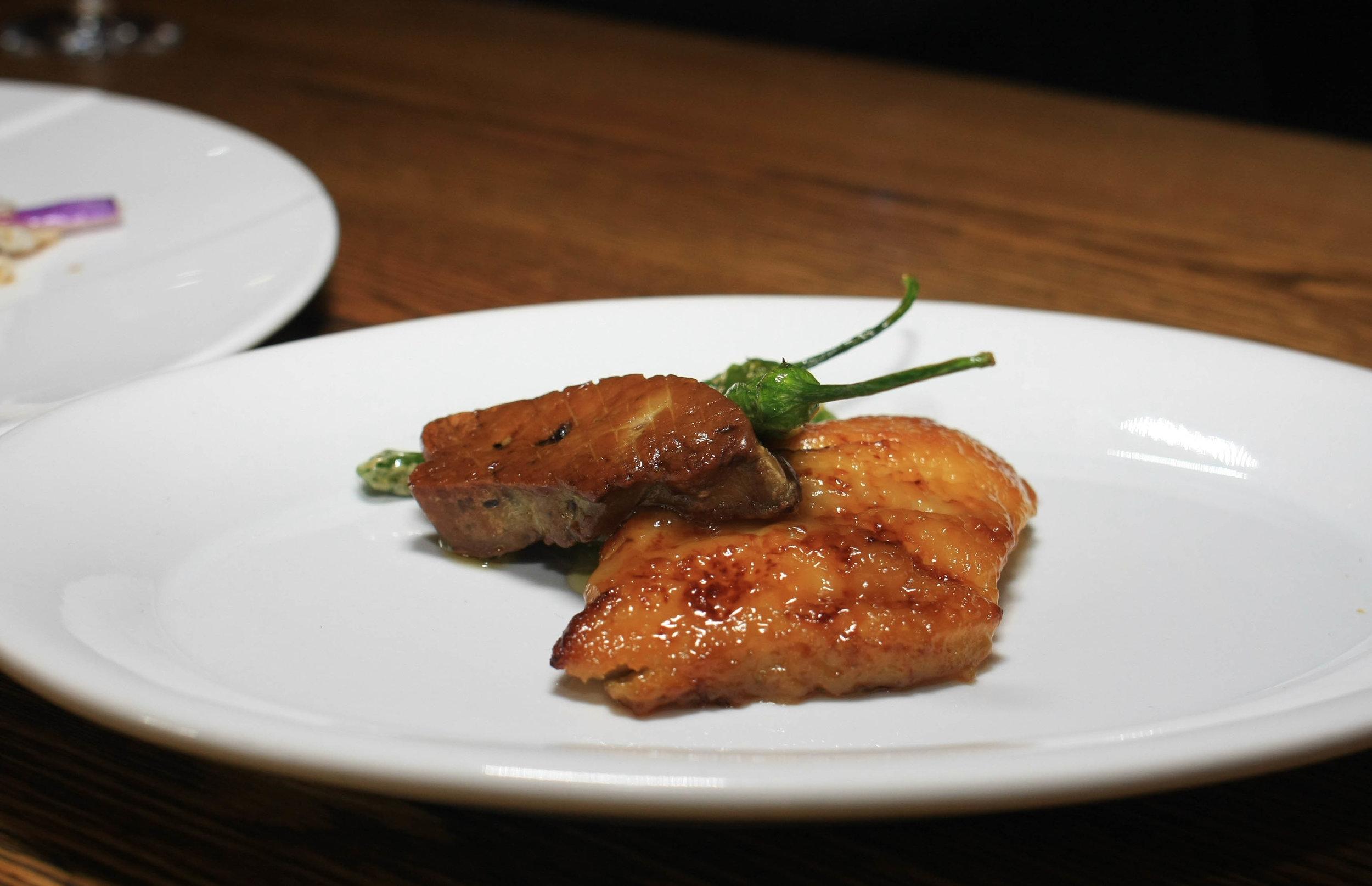 Chef's Choice - Foie Gras and Miso Black Cod