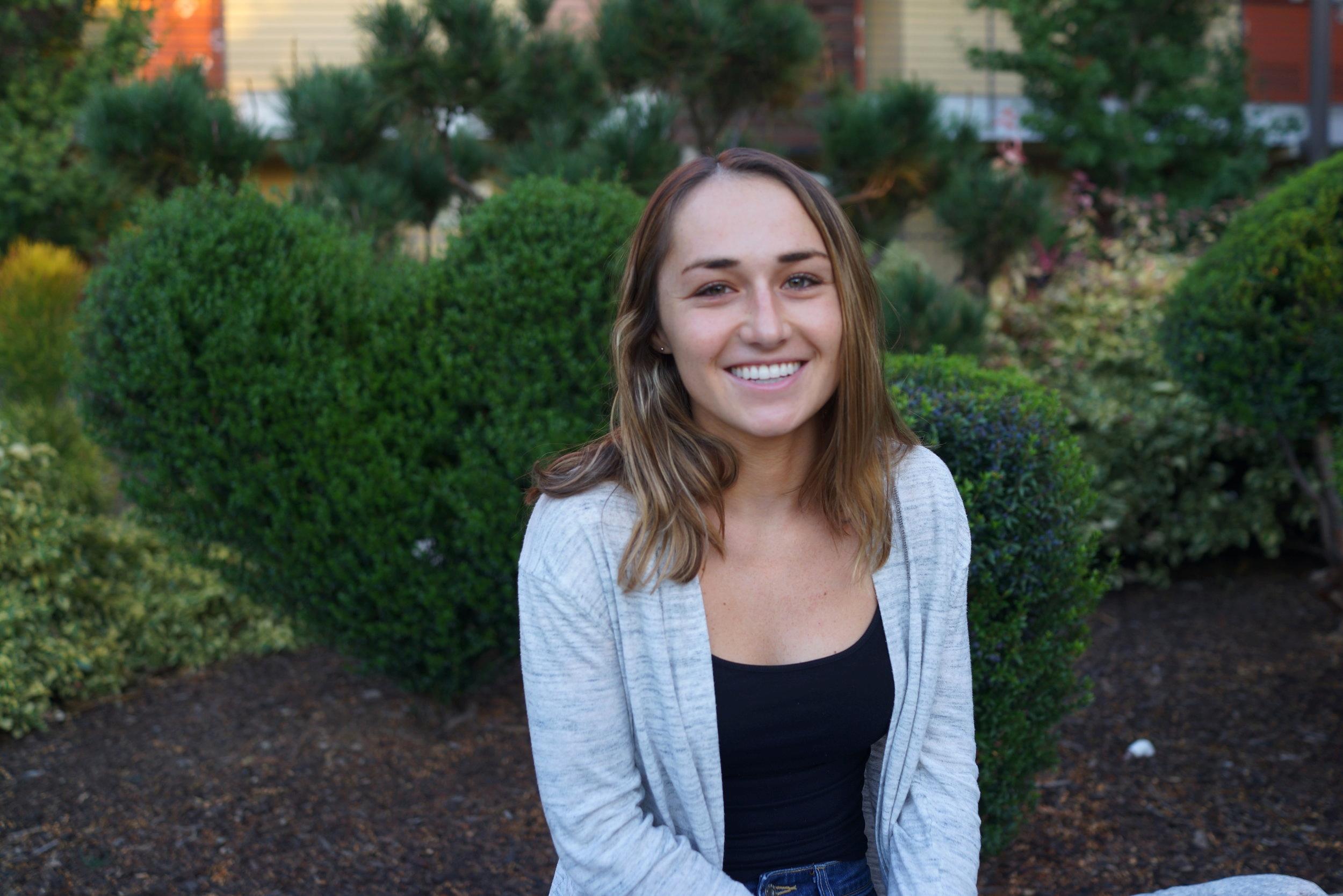 Samantha Sherman - Treasurer, Student Teacher