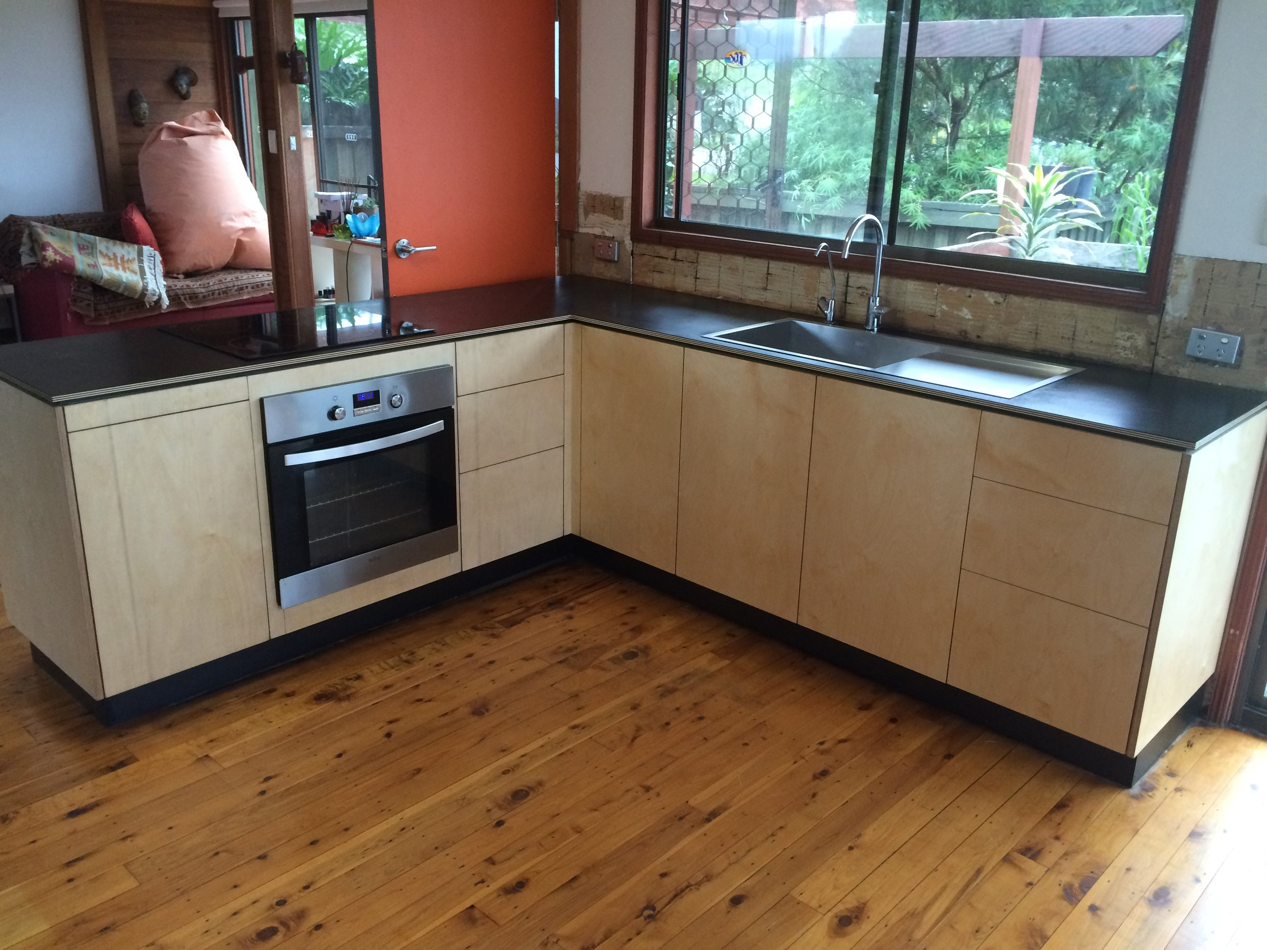 Norther NSW kitchen  made by Leaf Handcrafted Furniture