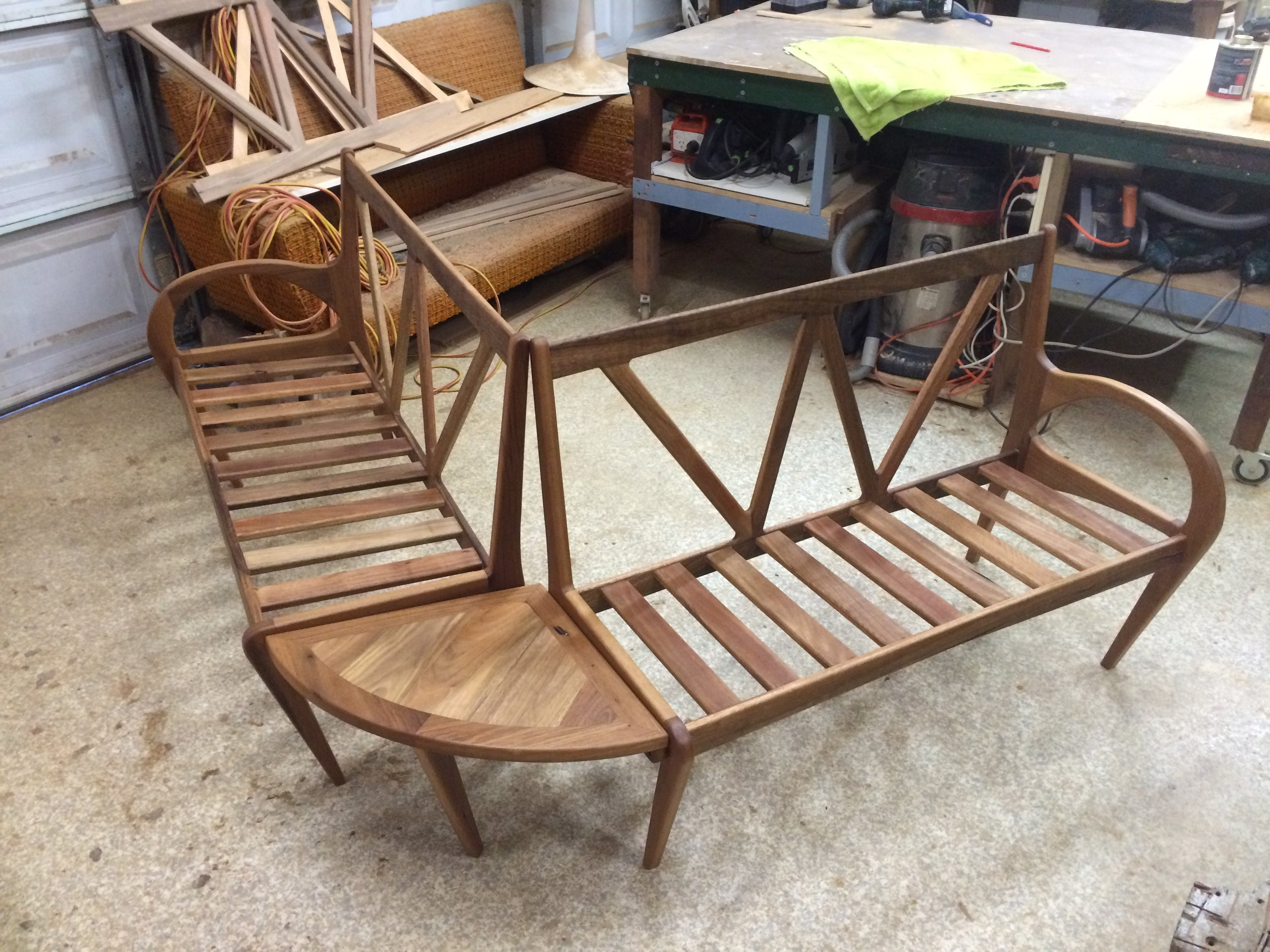 Designed and made by Leaf handcrafted Furniture