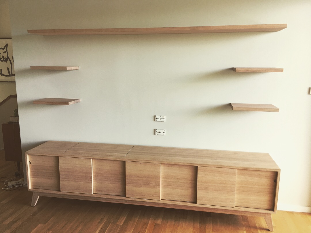 Entertainment Unit made by Leaf Handcrafted Furniture