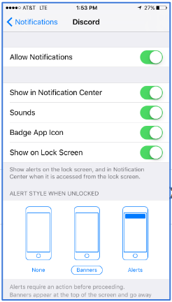 Step 1  Visit your phone's settings, then go to notification settings.  While here, make sure you have these settings enabled to receive instant alerts!