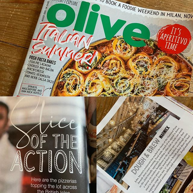 Casually flicking through the magazines in the newsagents, checking out the summer recipes when I discover this....The UK's Best Pizza Restaurants 😍😍😍 very humbled to be listed with some great company too.  #PizzaLove #AuthenticWithATwist