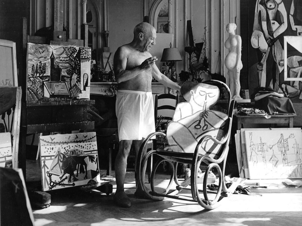 Atelier de la Californie - Cannes, 1956     30厘米 x 40  厘米/ 40  厘米x 50  厘米/ 50  厘米x 60  厘米