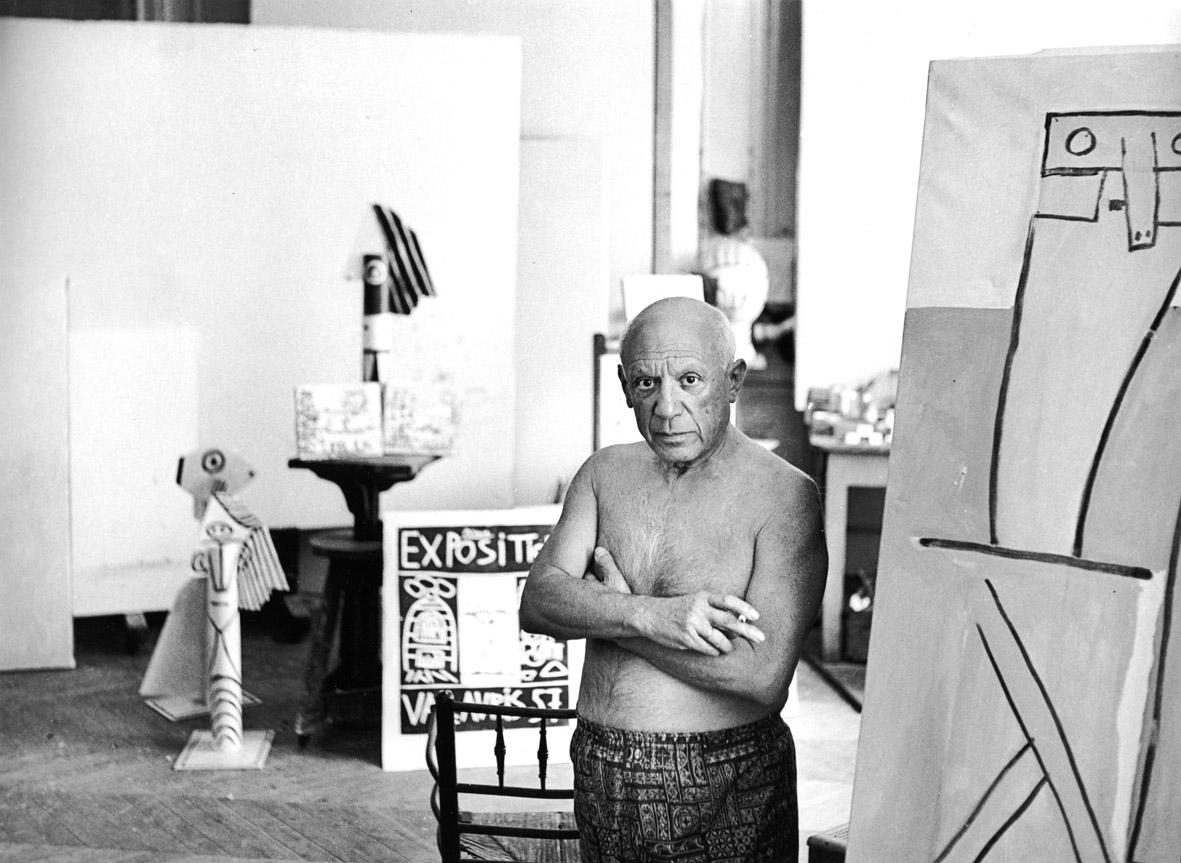 Atelier de la Californie - Cannes, 1957         30厘米 x 40  厘米 / 40  厘米 x 50  厘米 / 50  厘米 x 60  厘米
