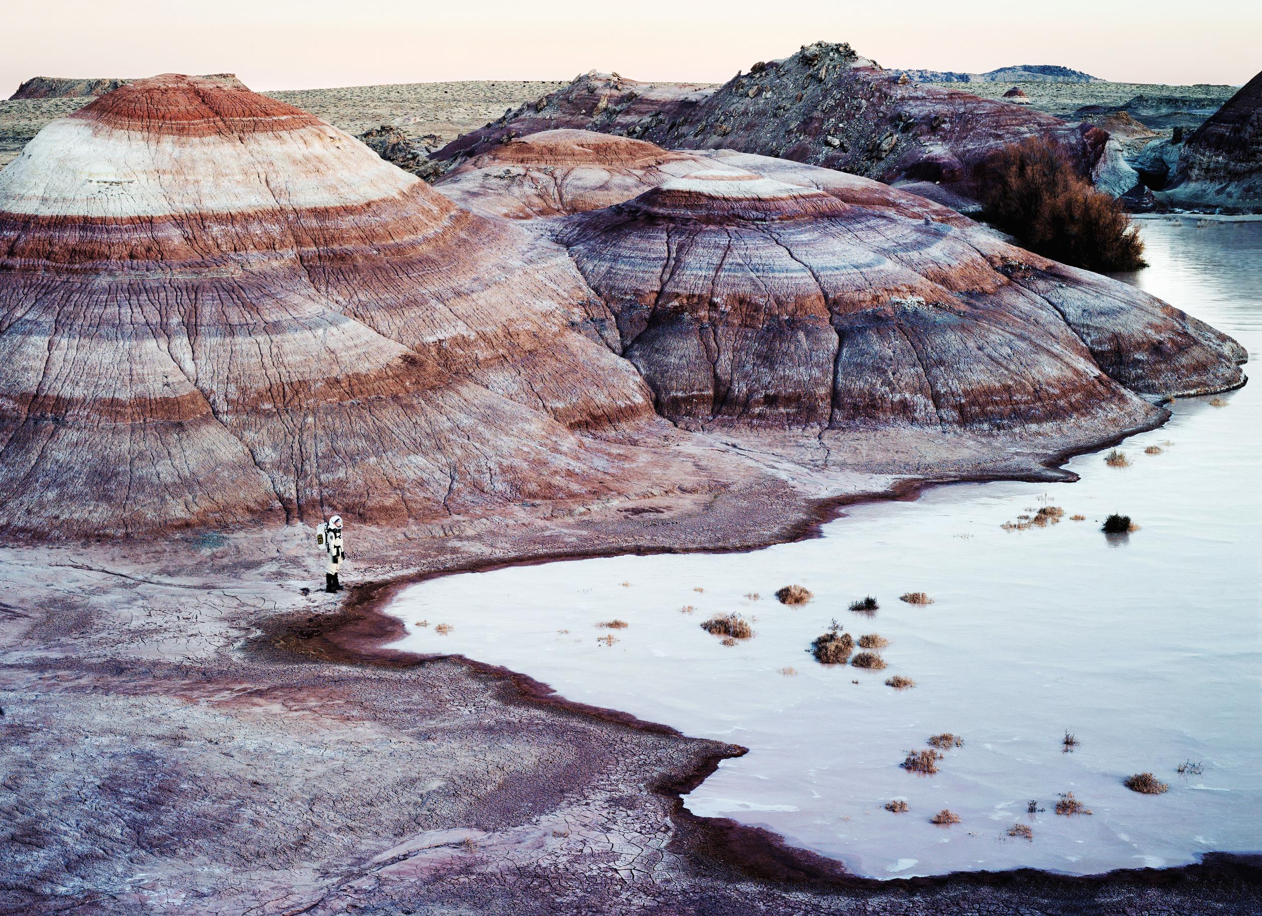 Mars Desert Research Station #6  火星協會,聖拉斐爾膨脹,猶他州,美國, 2008  100x 300 厘米/ 153 x 200 厘米/ 180 x 235 厘米