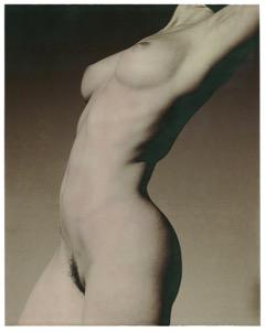女體  紙張尺寸:48 x 61 厘米/ 68 x 90 厘米