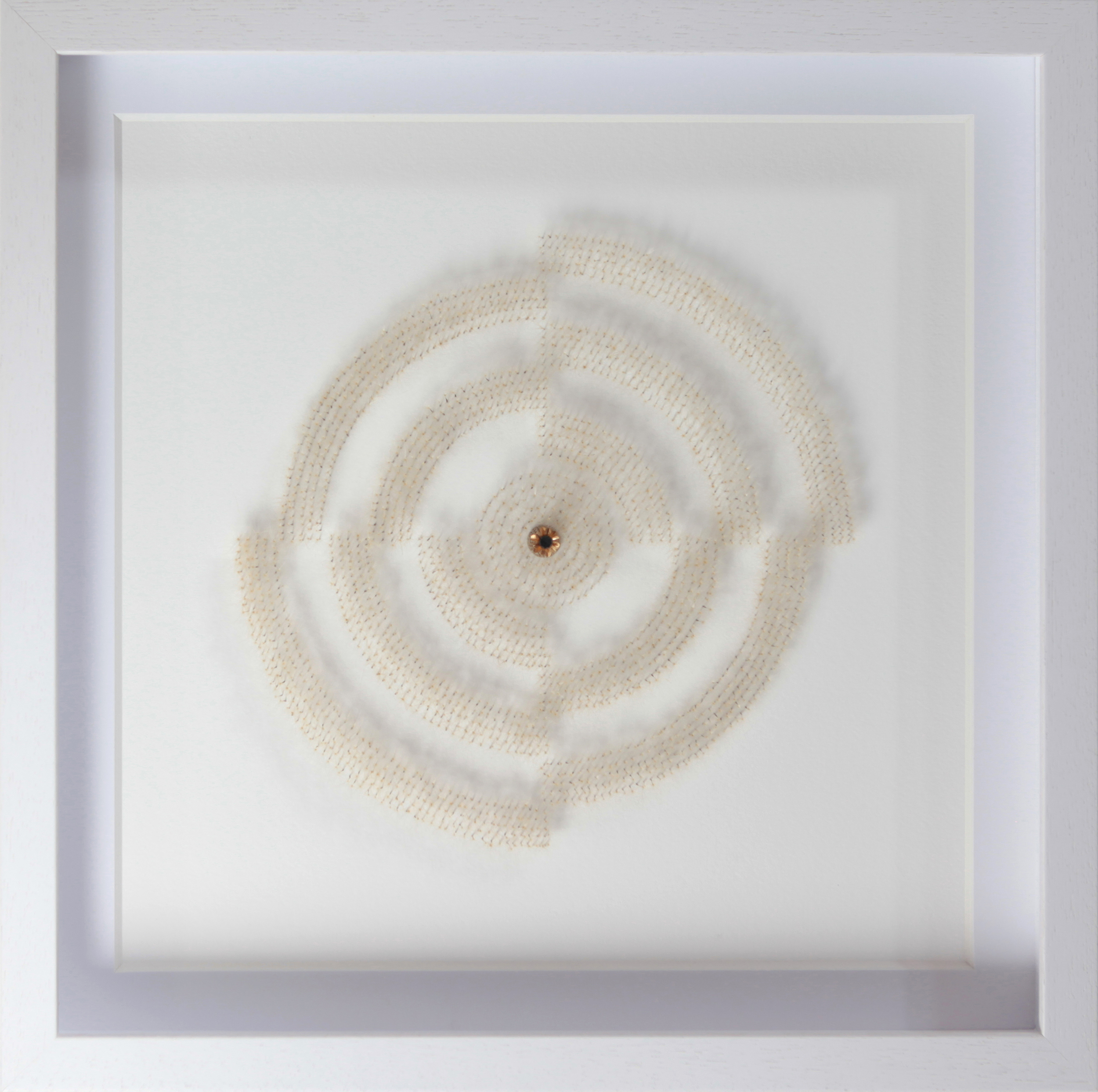 單色的蒲公英 #4    50 x 50  x 6 厘米