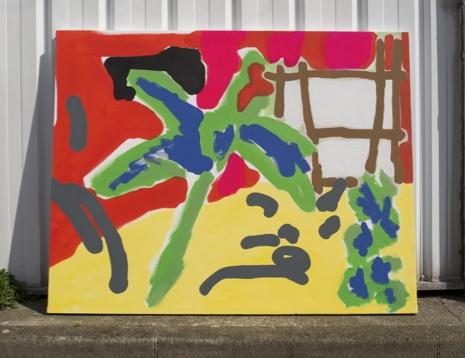""""""" Interieur jour """" - Acrylic on canvas - 146 x 114 cm - 2019"""