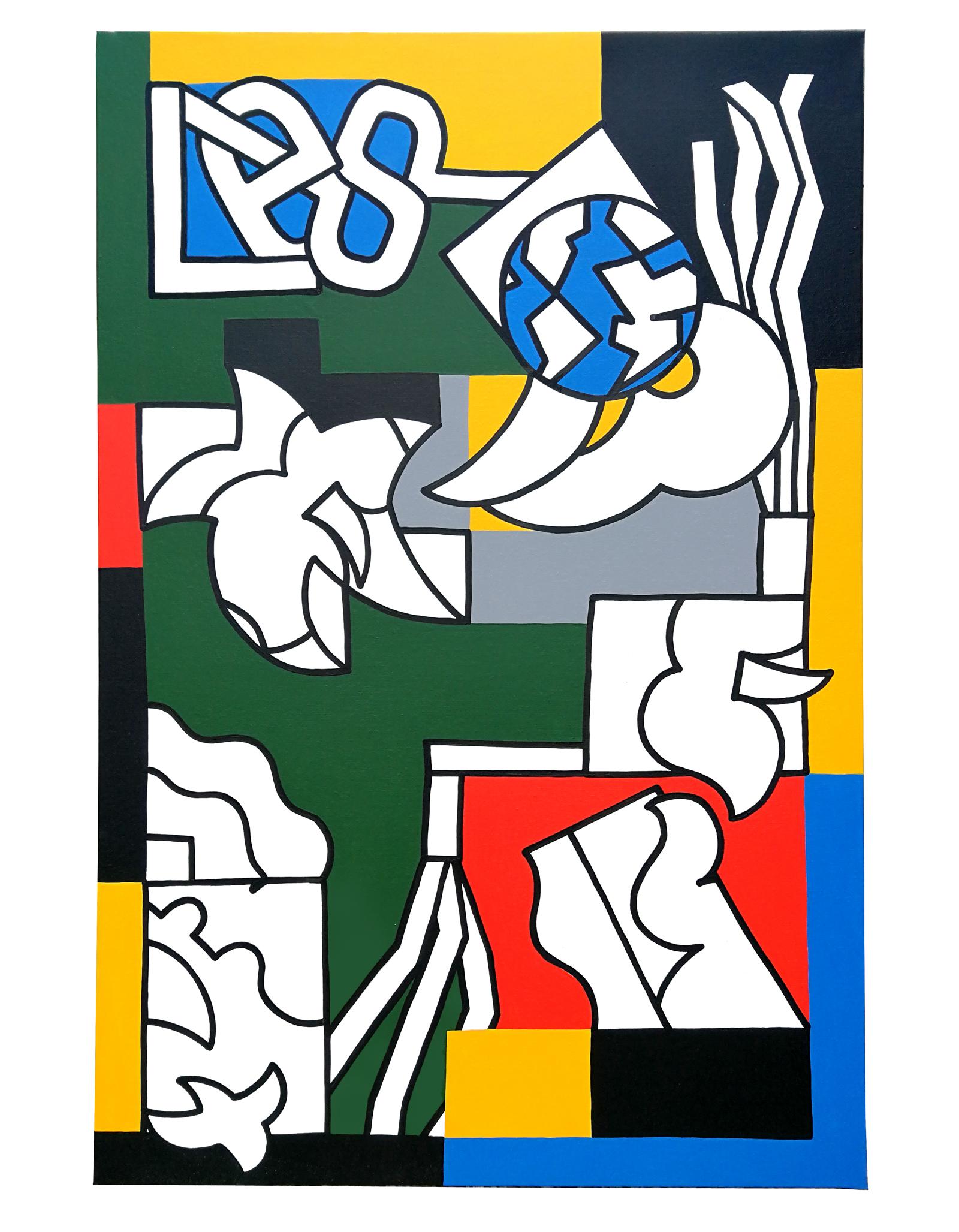 Les rêves - acrylic on canvas, 80 x 120cm, 2019