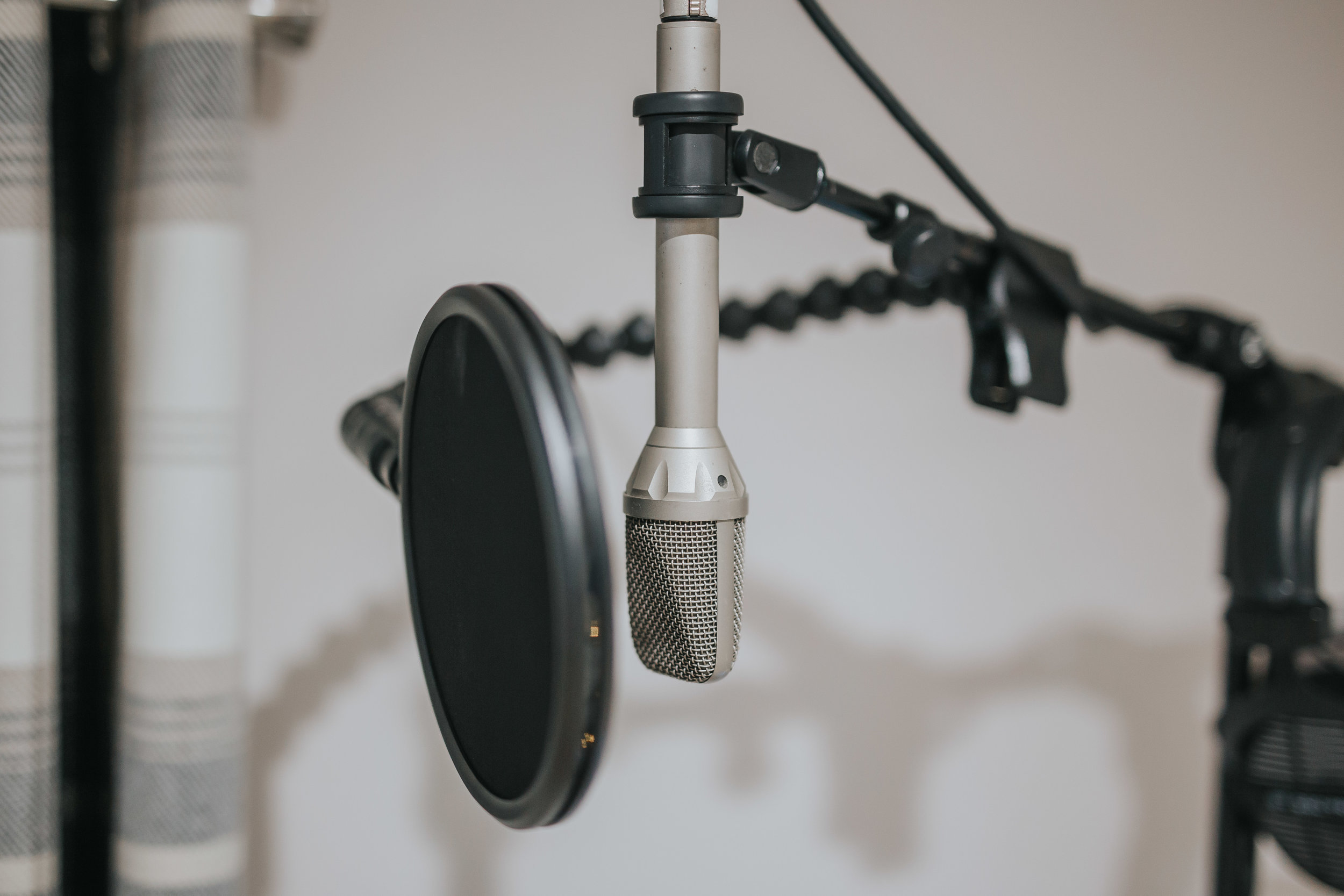 Gefell Microphone | The Barn Studio | Photo by Ian Wallman