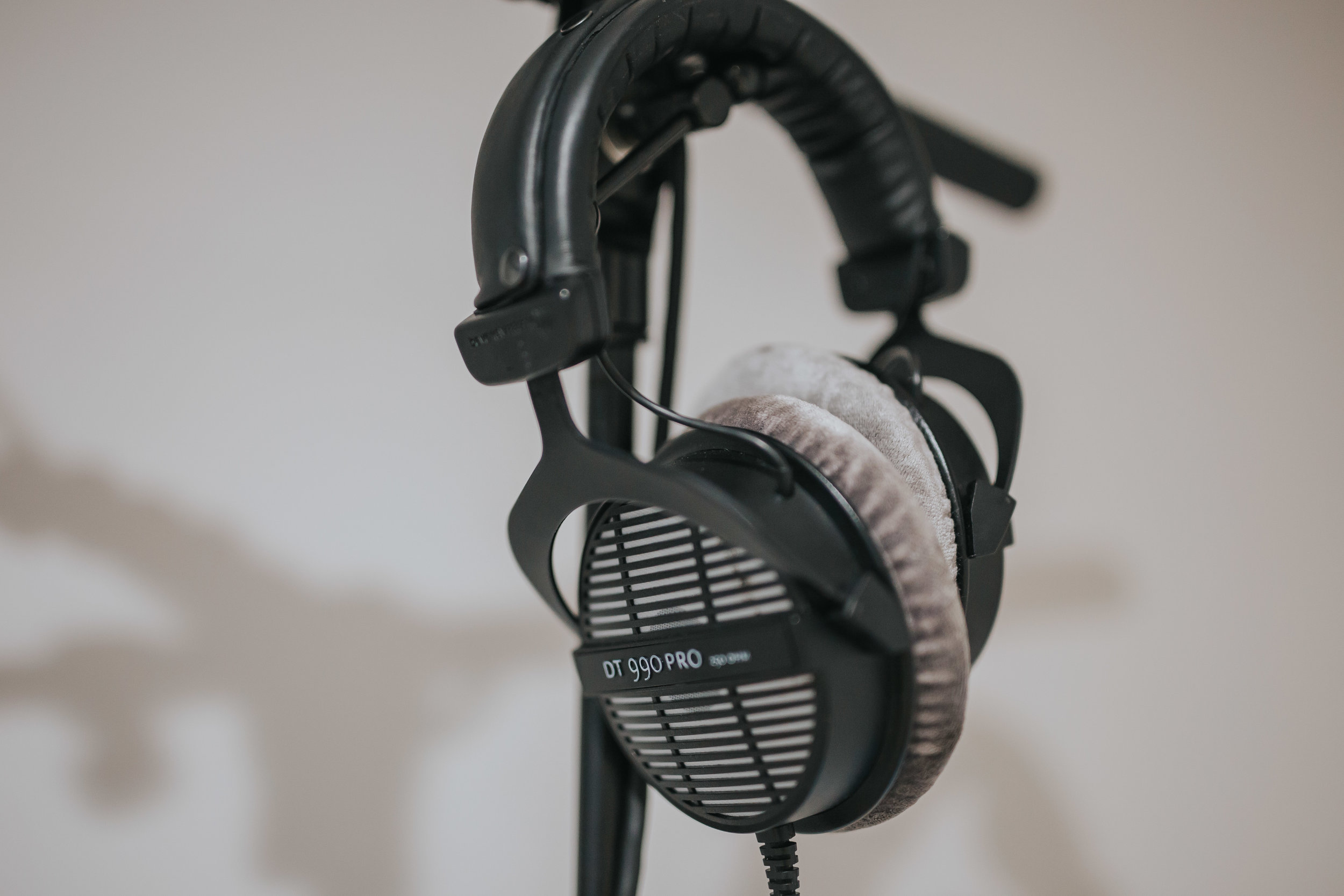 Beyerdynamic DT 990 Pro Headphones | The Barn Studio | Photo by Ian Wallman