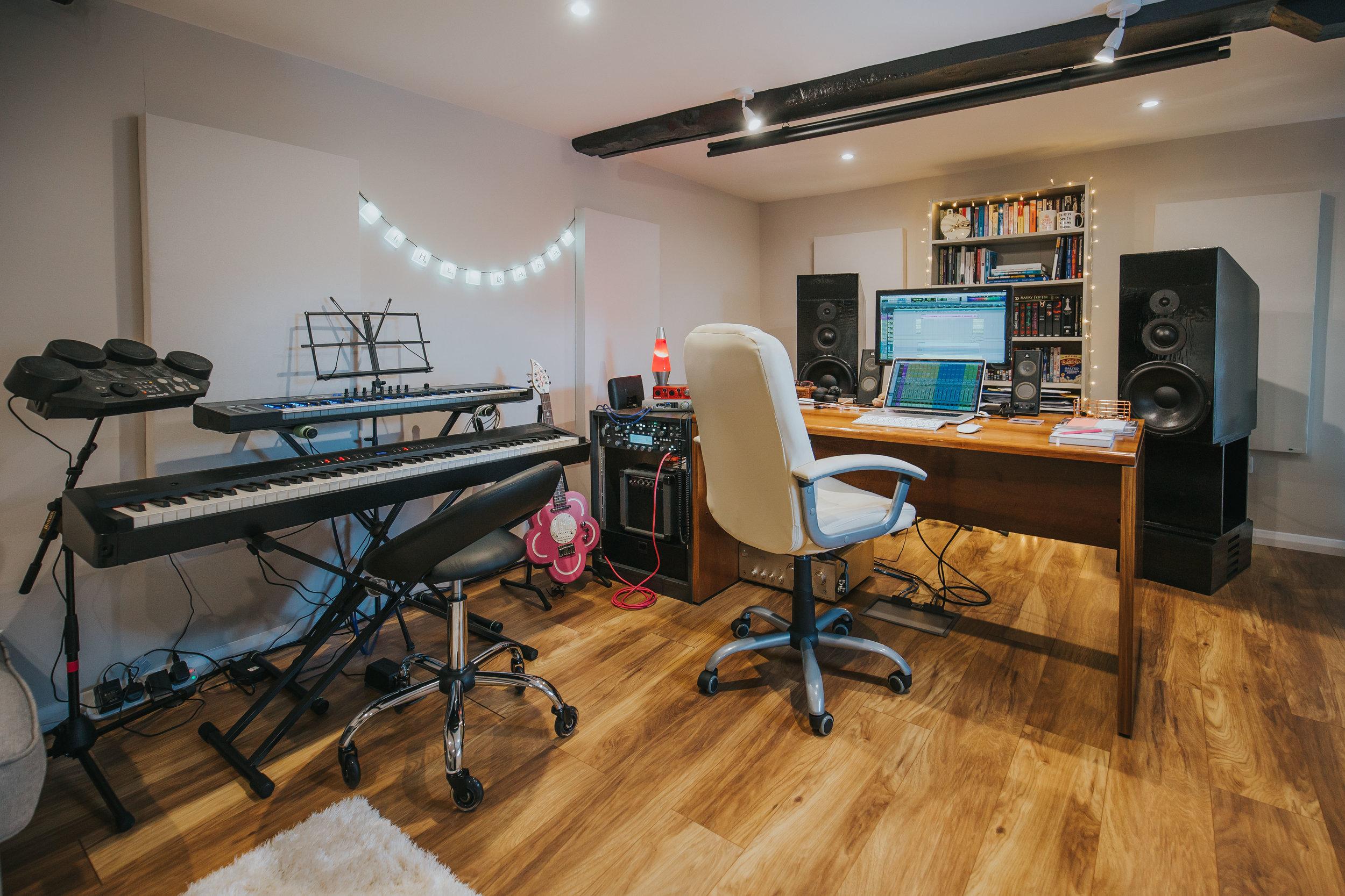 Production Studio | The Barn Studio | Photo by Ian Wallman
