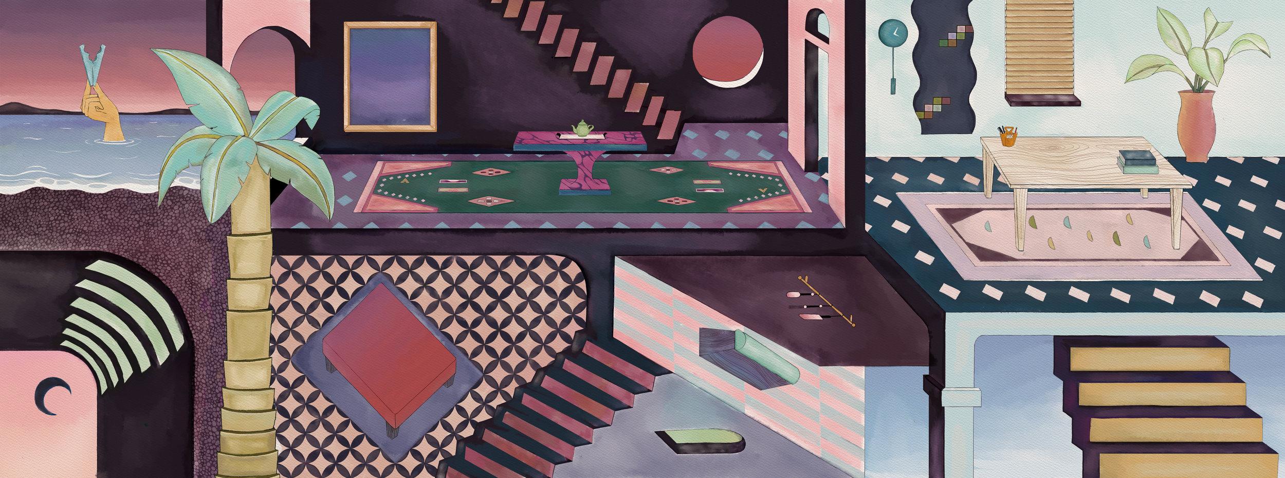 Kink World    Background Design