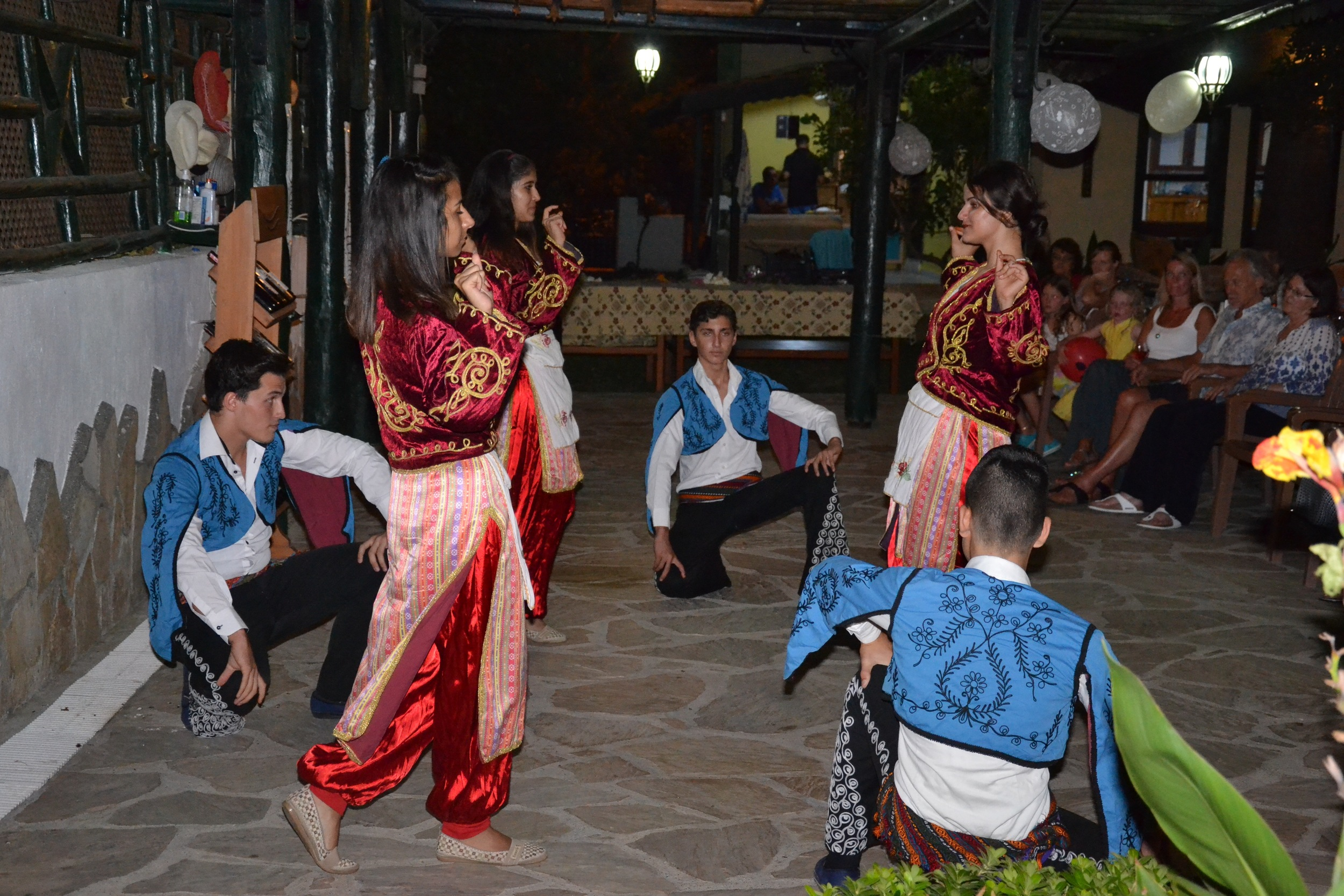 A bit of Turkish dancing