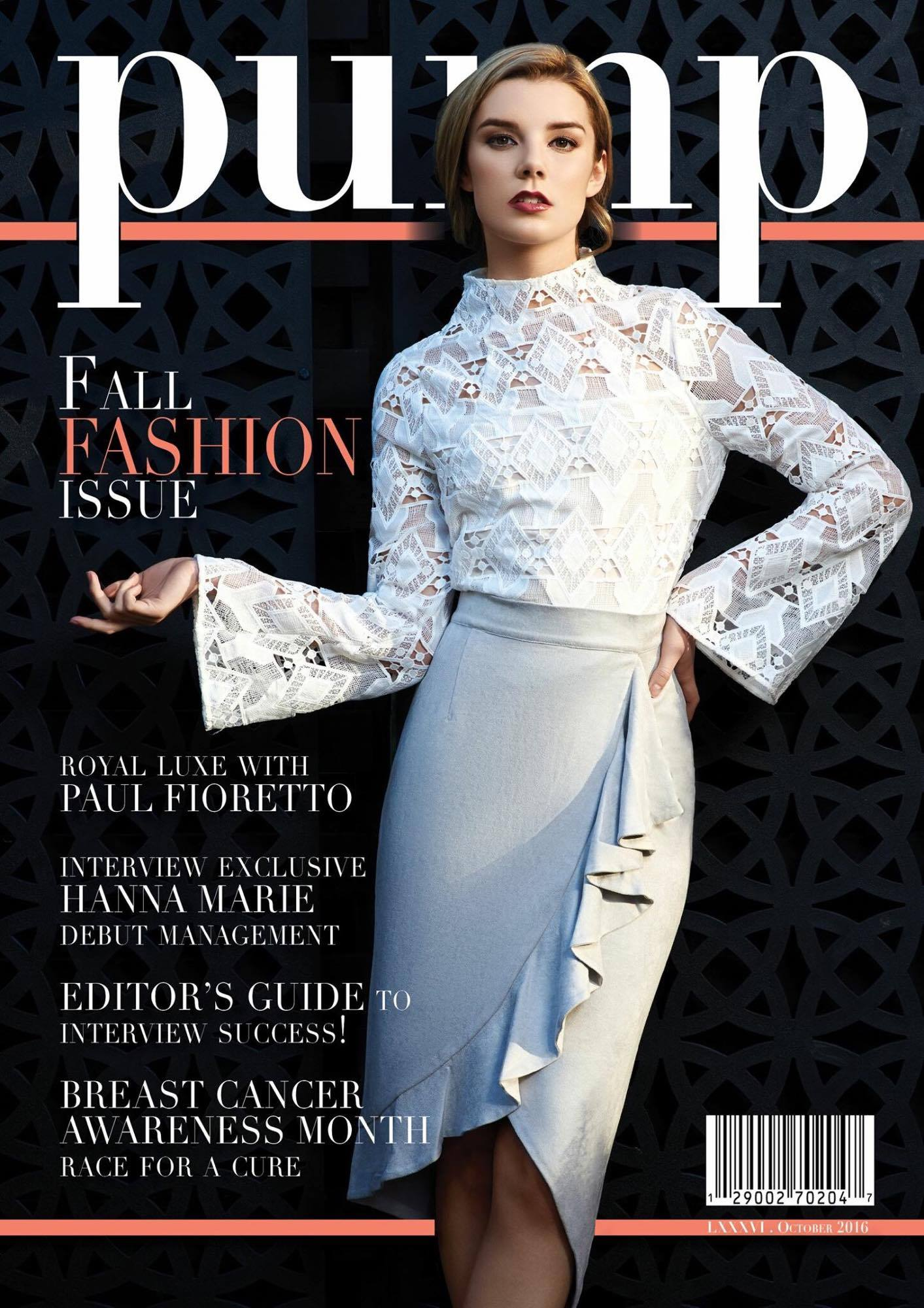Royal Luxe PUMP Magazine Cover 2016