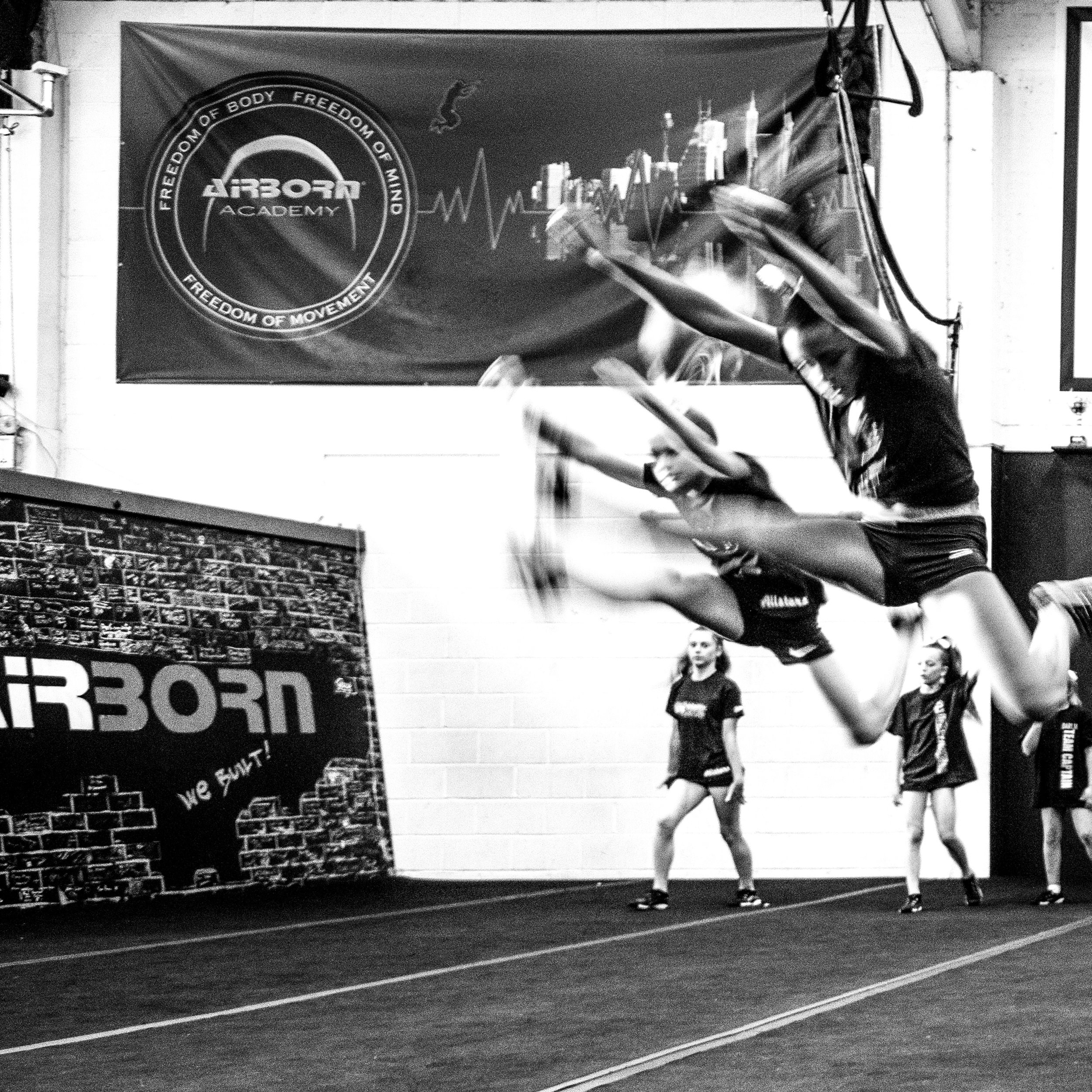 Top class action at the Airborn Academy in Liverpool