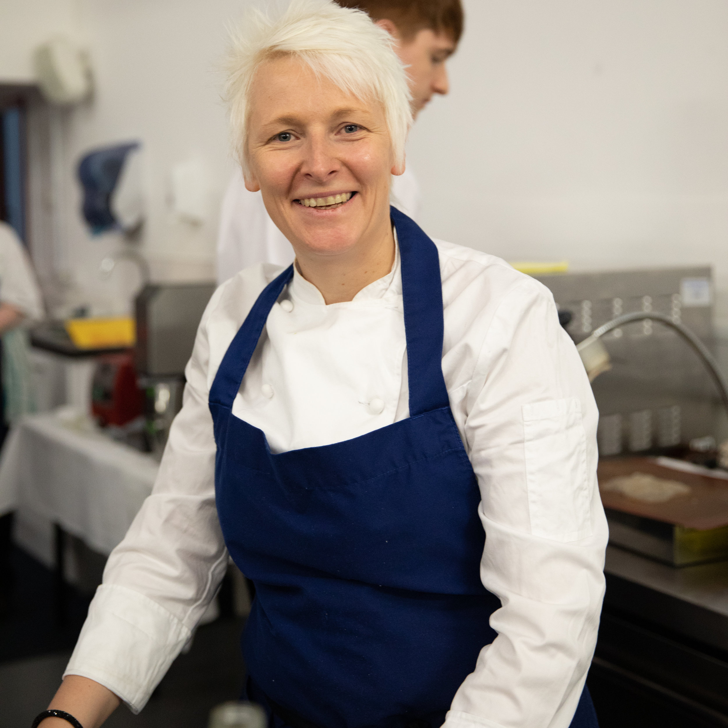 Lisa Allen at Skills for Chefs 2018