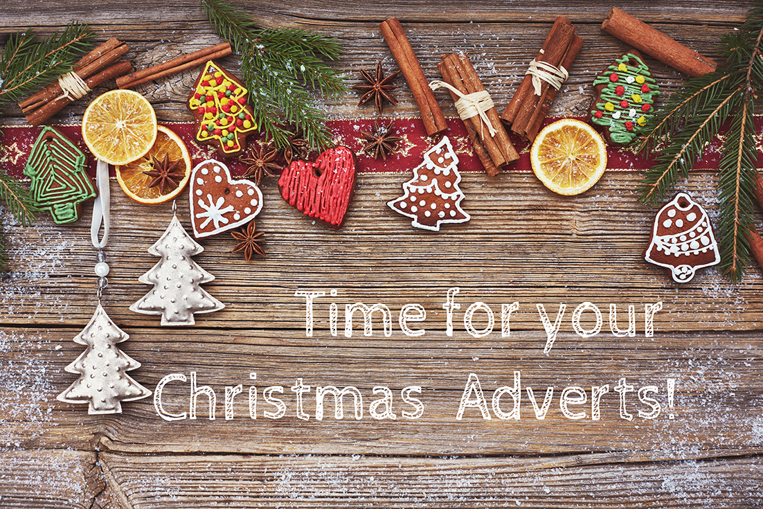 Time for Christmas adverts!
