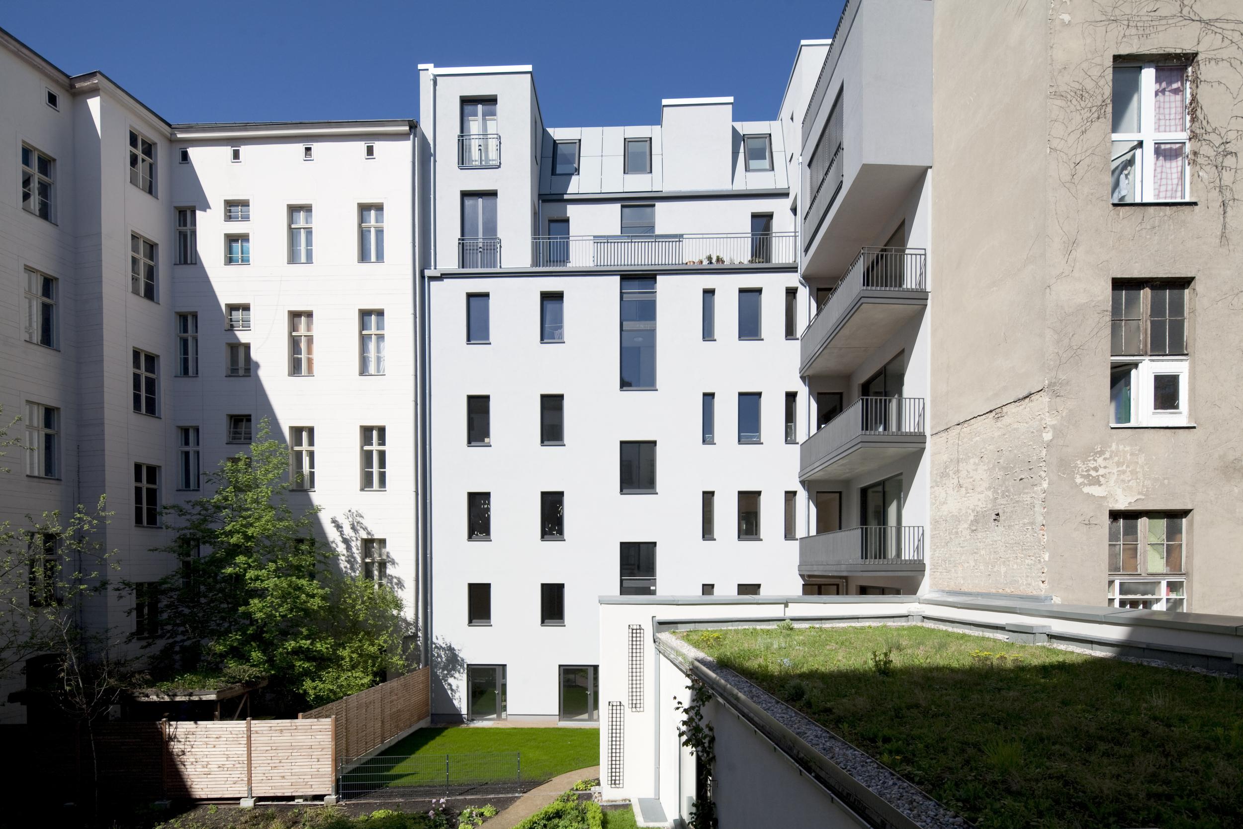 Private apartmenthouse, Kluckstraße, Berlin,