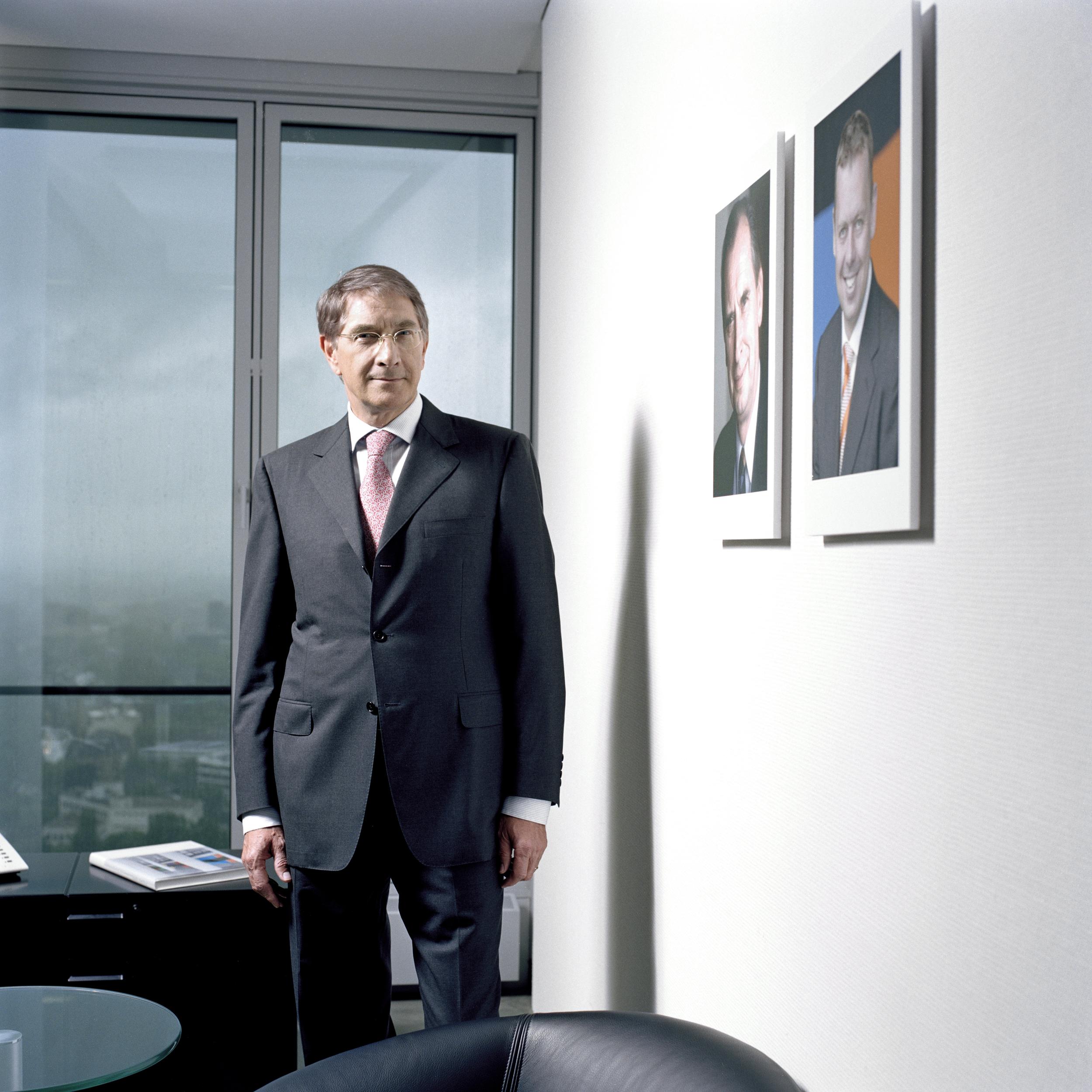 CEO Mr Mayer, for ERGO