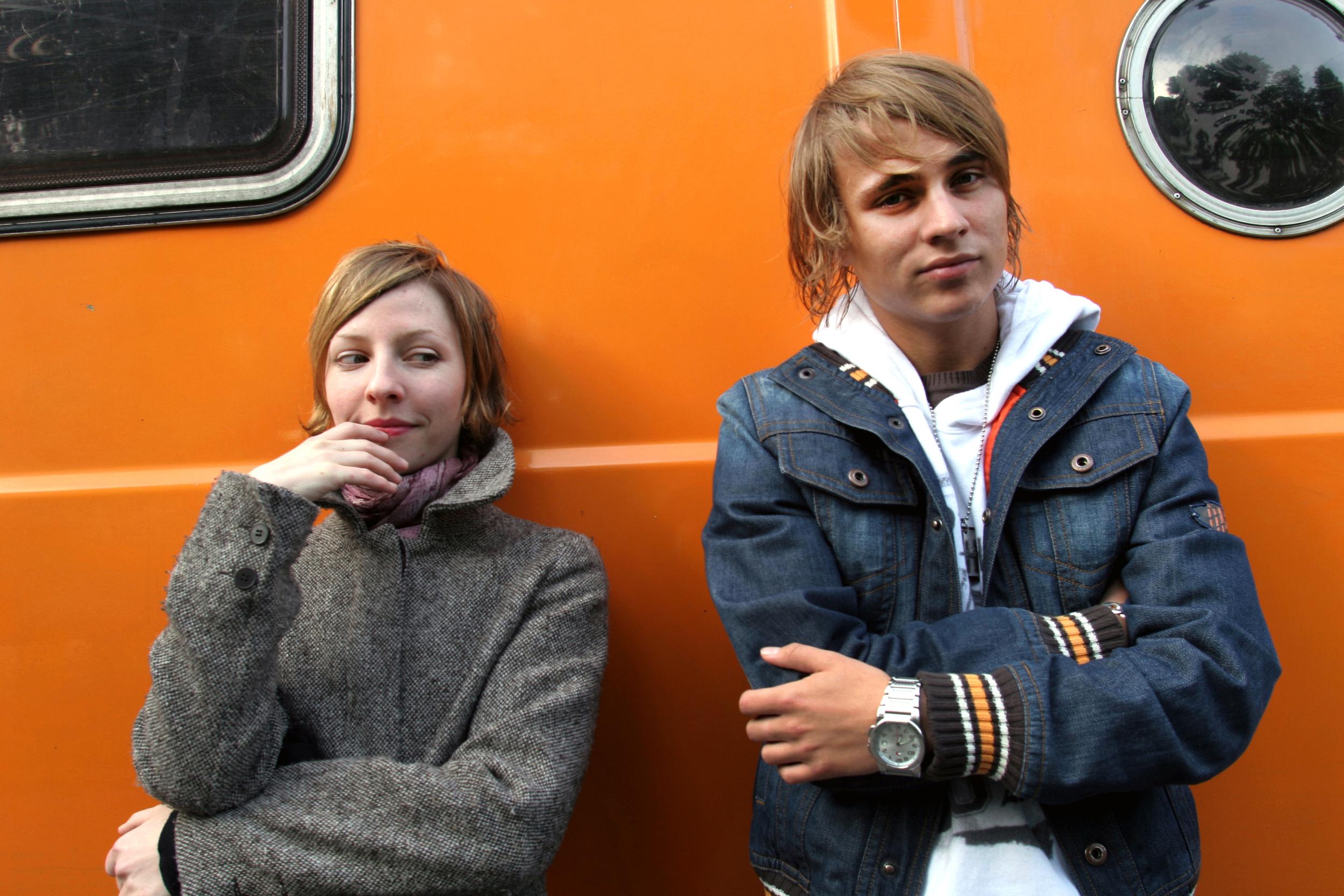 Katharina Schüttler und Constantin von Jascherow, Actors, Berlin