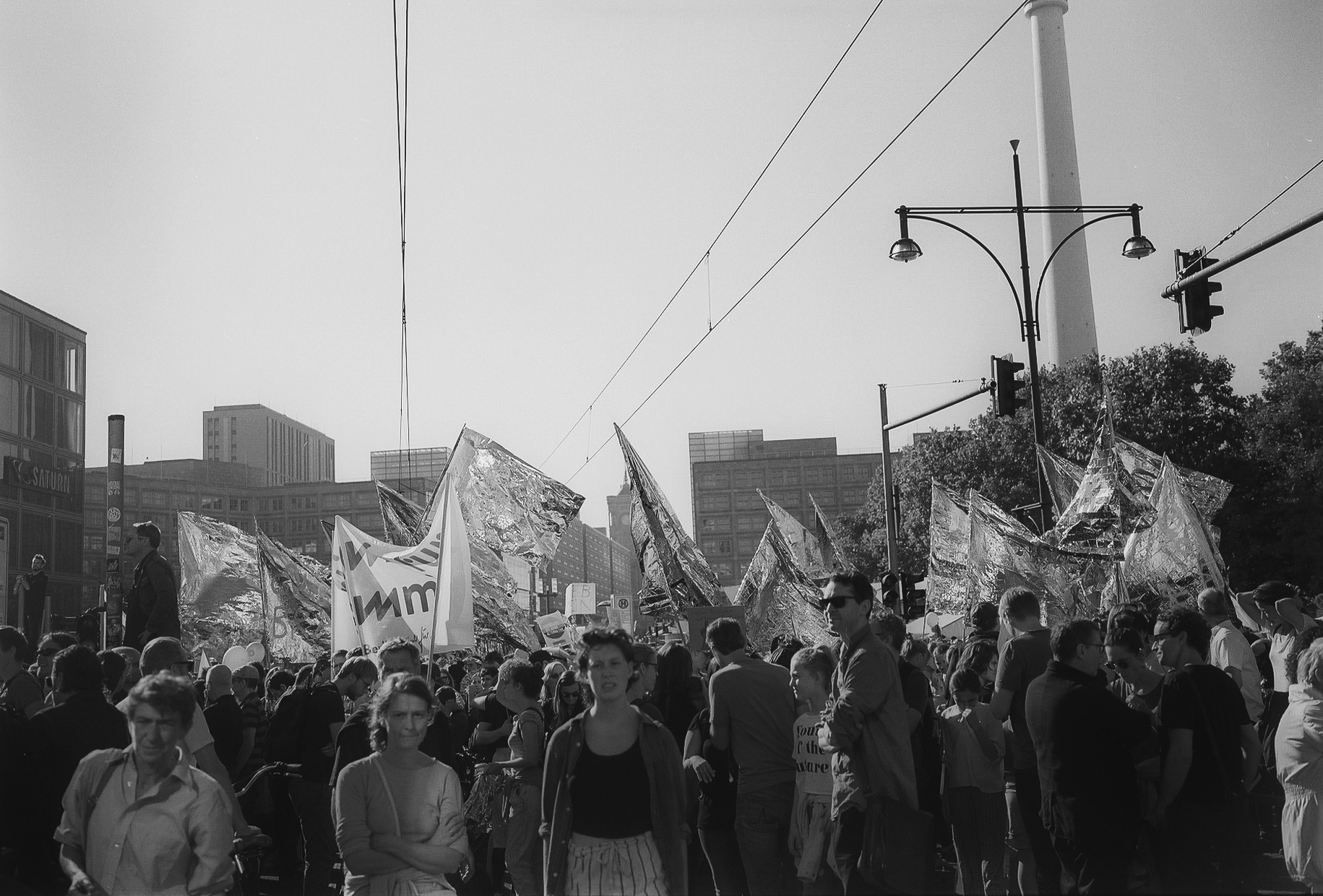 Berlin, Demonstration