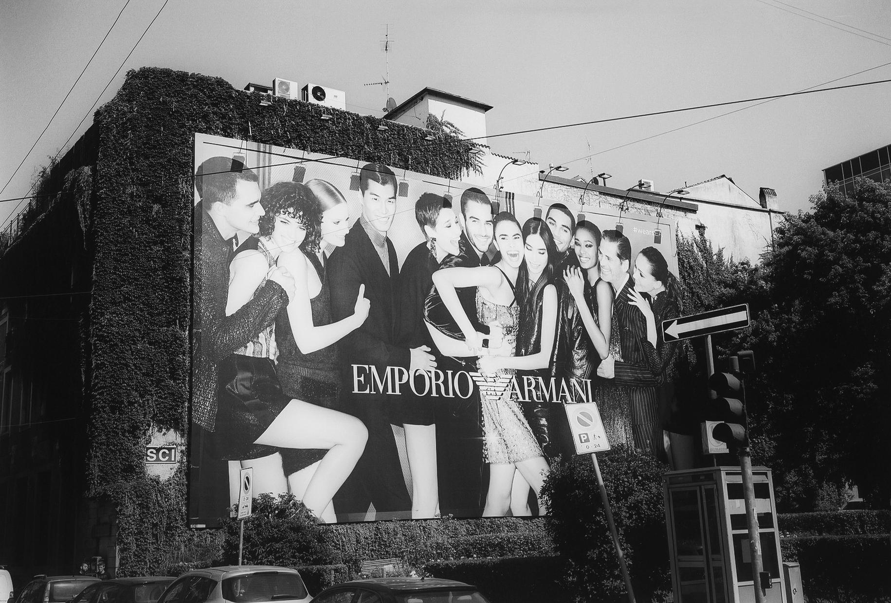 Milano, Via dell´Orso, angolo via Broletto